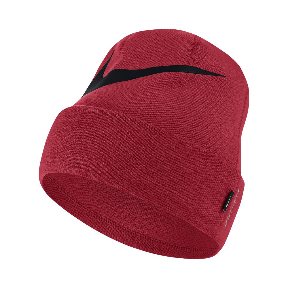 03d625242dc Lyst - Nike Swoosh Cuffed Training Knit Hat (red) in Red for Men