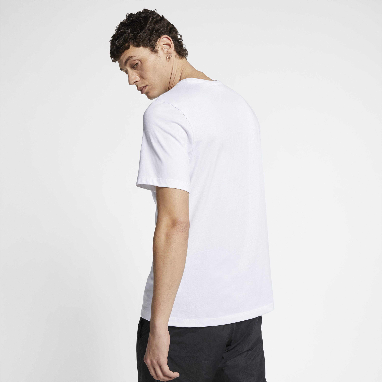 3731c4b06318f0 Nike - White Jordan Legacy Aj4 Woven Labels T-shirt for Men - Lyst. View  fullscreen