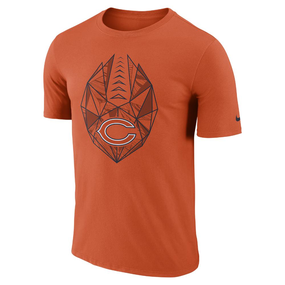 a560e9a4365b Lyst - Nike Dri-fit Icon (nfl Bears) Men s T-shirt in Orange for Men