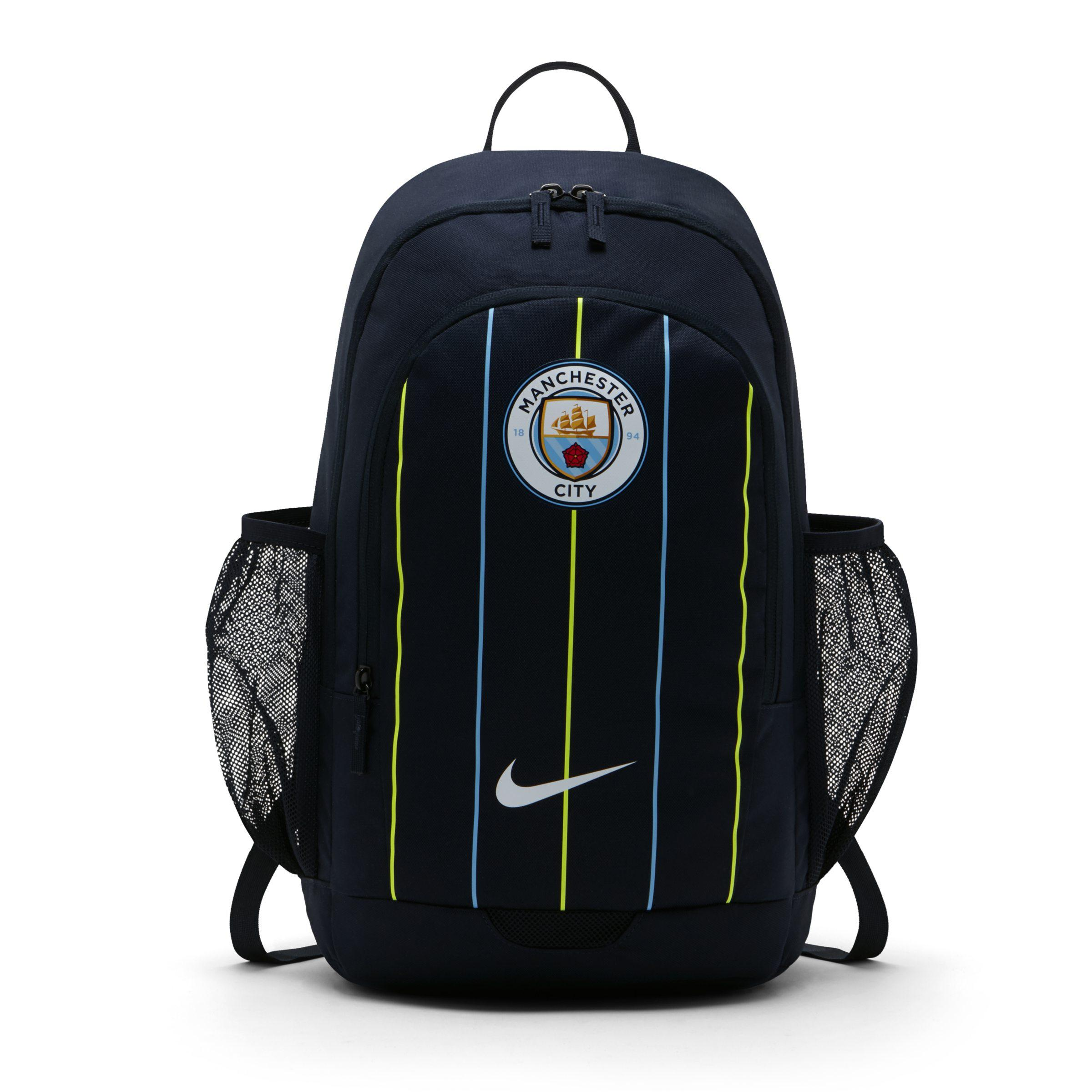 a2d6e17ea334 Nike Manchester City Fc Stadium Football Backpack in Blue - Save 33 ...