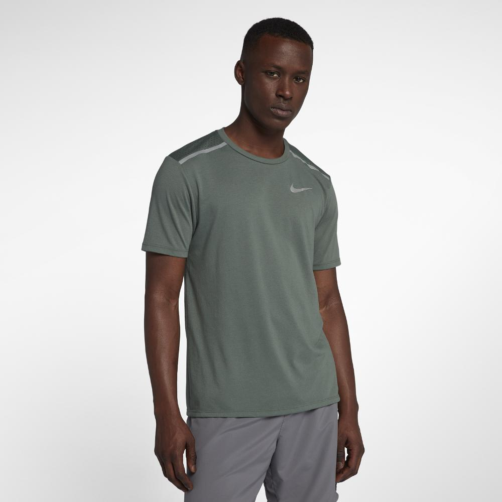 35ffca2d69954 Lyst - Nike Dri-fit Rise 365 Men s Short Sleeve Running Top in Green ...