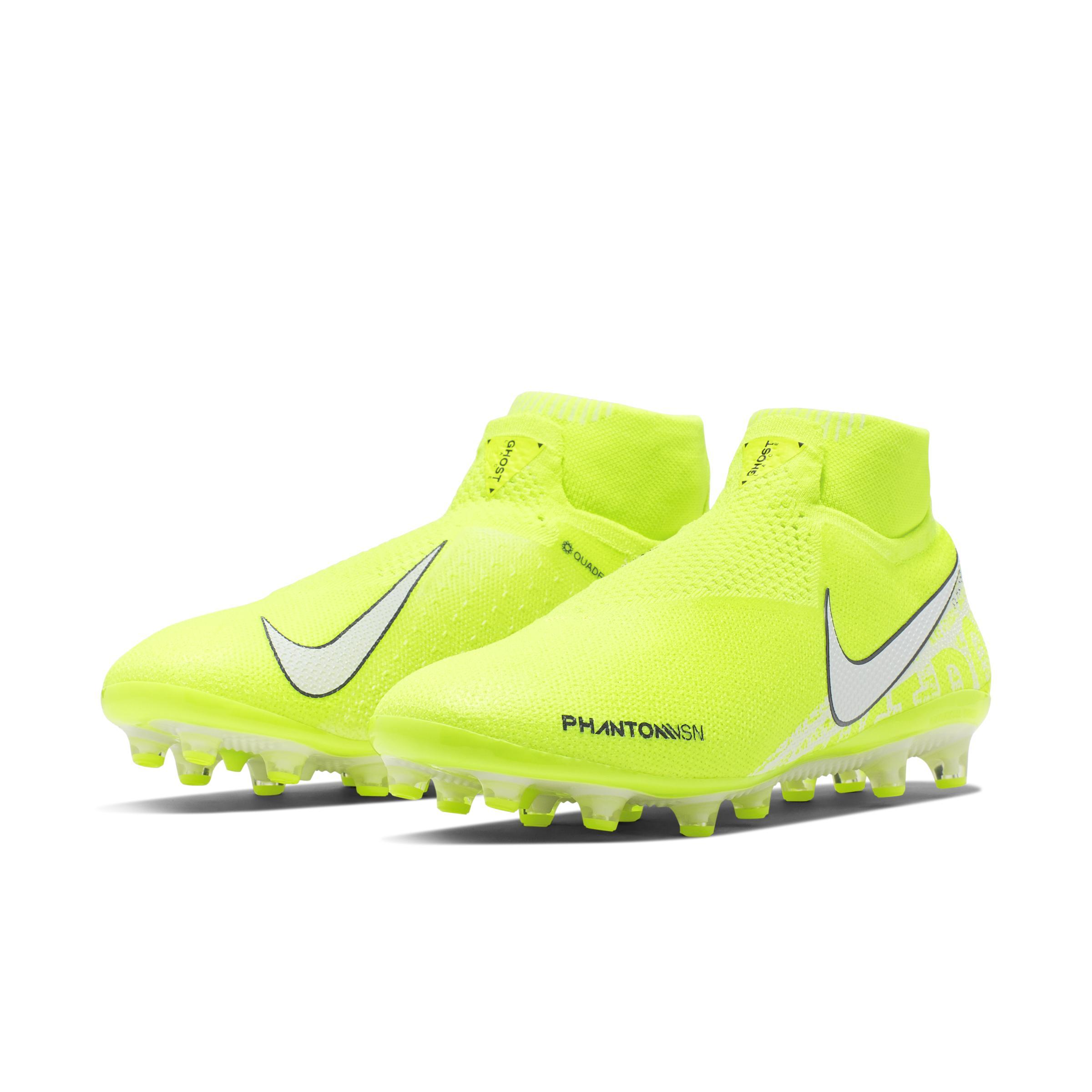 Phantom Vision Elite Dynamic Fit Botas de fútbol para césped artificial Nike de Encaje de color Amarillo: ahorra un 22 %