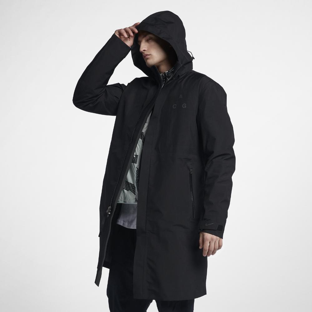 mens long nike coat