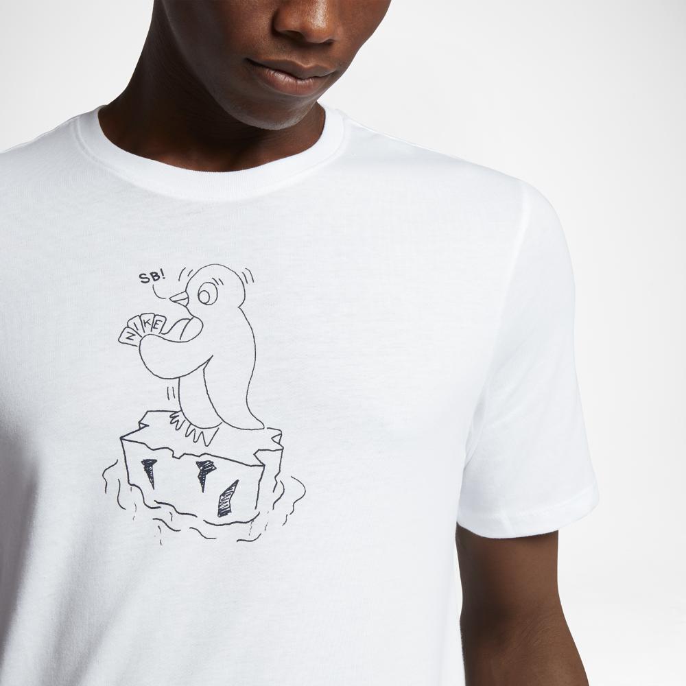 Nike Cotton Sb Penguin in White for Men