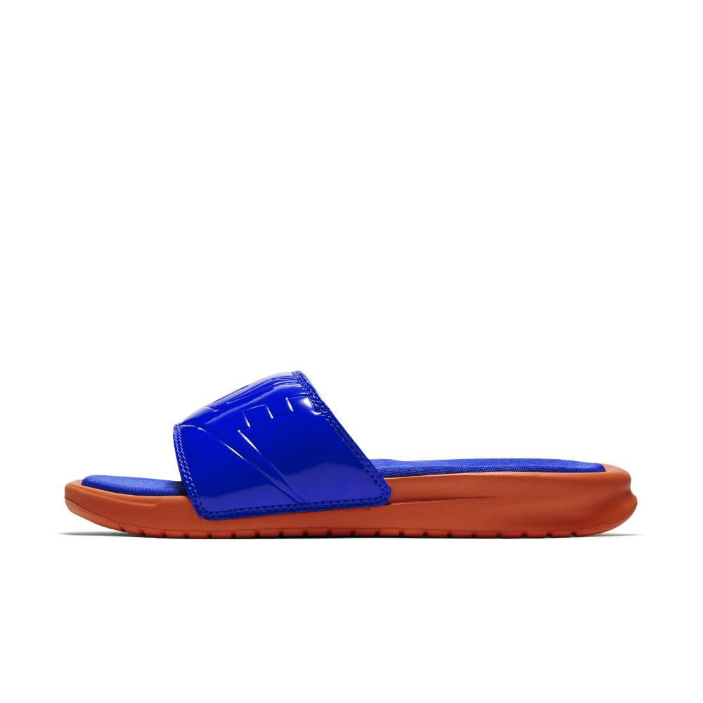 separation shoes 65dc5 24e07 Nike. Blue Benassi Jdi Ultra Se Women s Slide Sandal