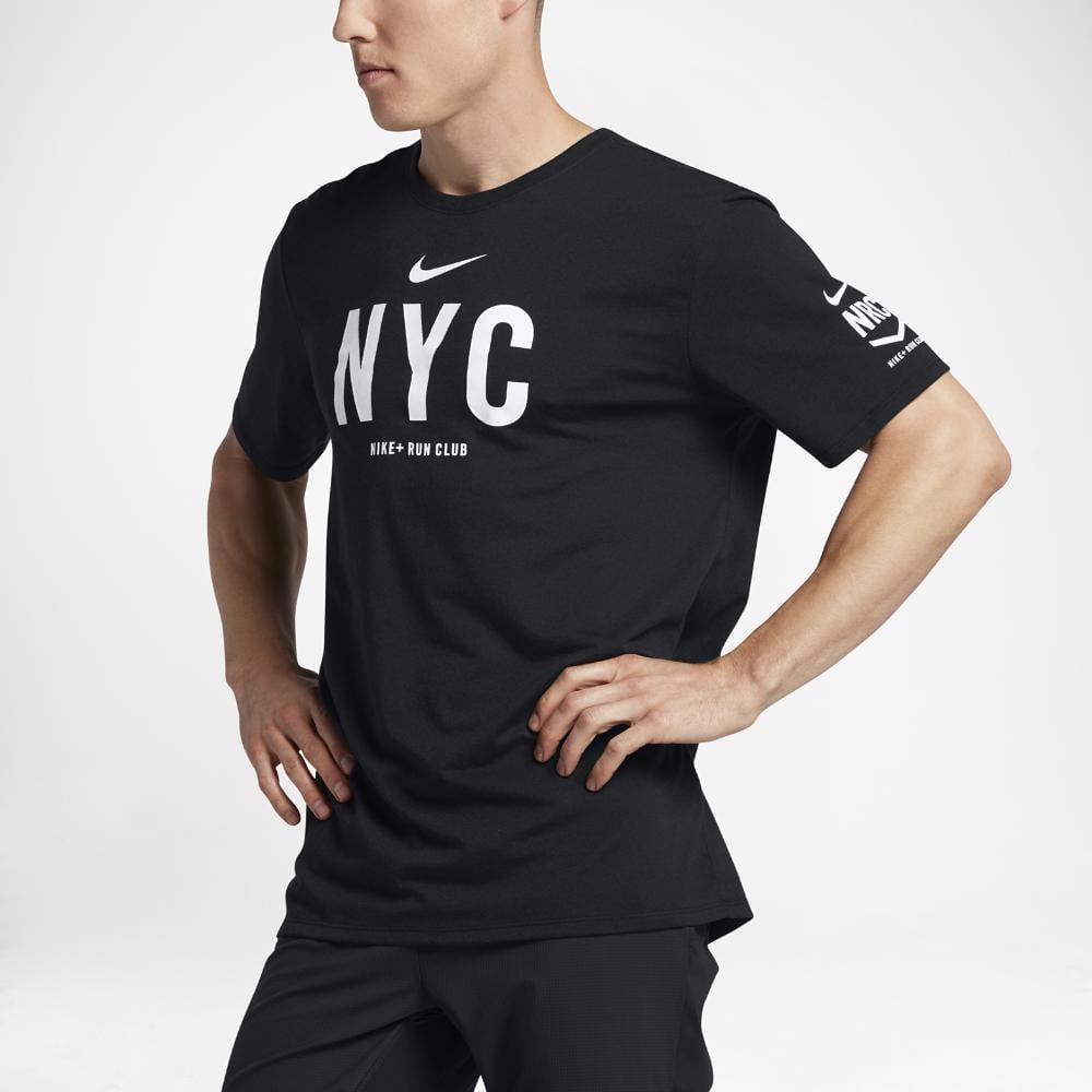 f99b3c10e8d4 Lyst - Nike Dry Run Club (new York) Men s T-shirt in Black for Men