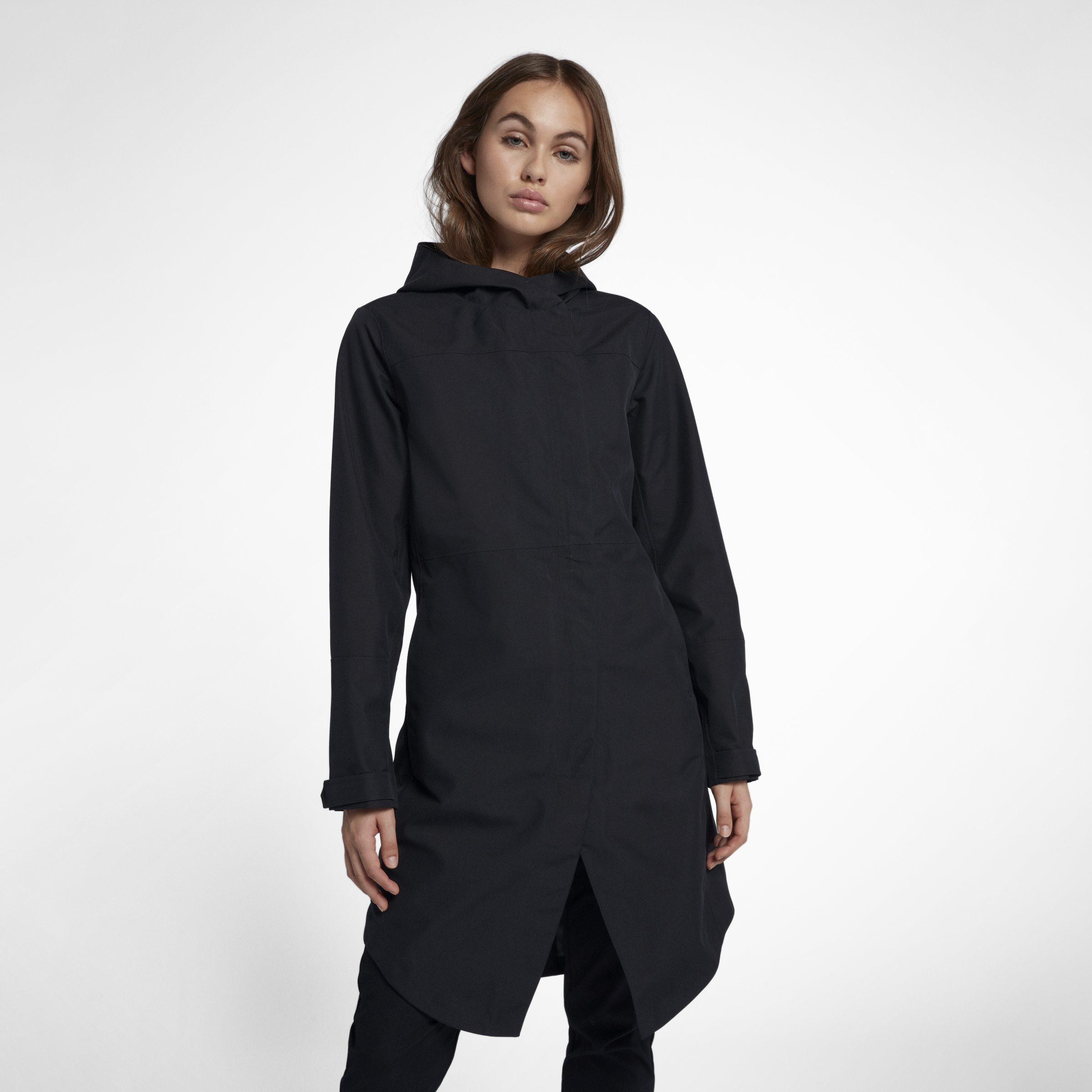 latest collection best collection newest style of Nike Hurley Winchester City Trench Coat in Black - Lyst
