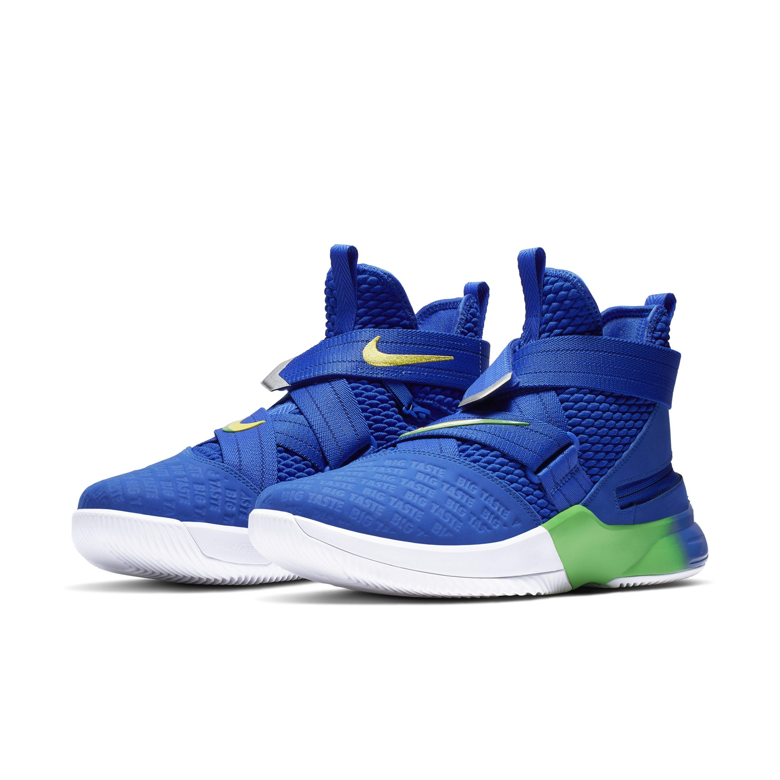 0377f091a7d Nike - Blue Lebron Soldier 12 Flyease Basketball Shoe for Men - Lyst. View  fullscreen