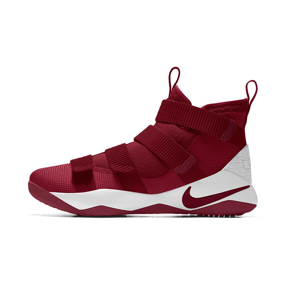 c4b94a665512 Lyst - Nike Lebron Soldier Xi Id Men s Basketball Shoe in Red for Men