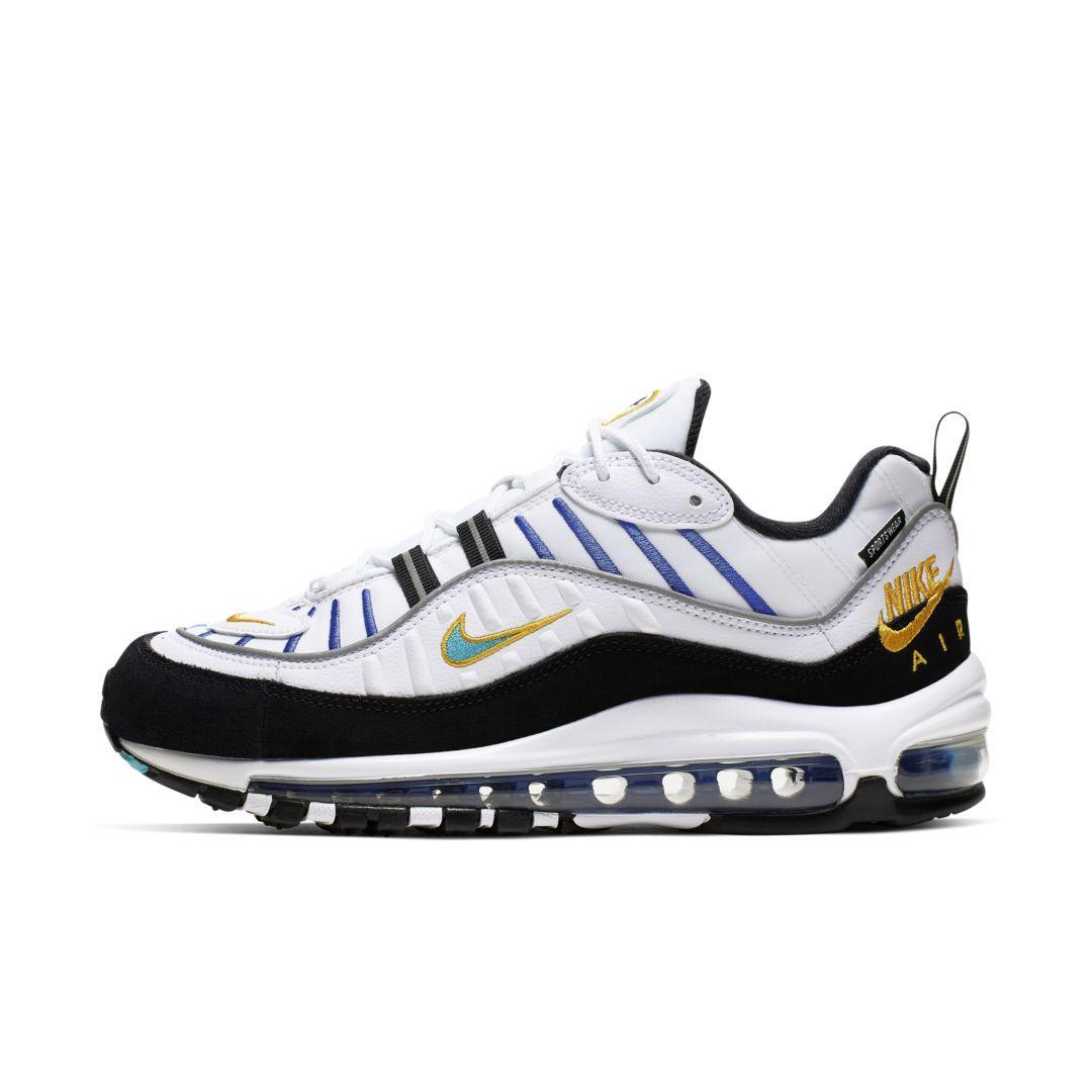 best sneakers 29976 a8c5c Women's White Air Max 98 Premium Shoe