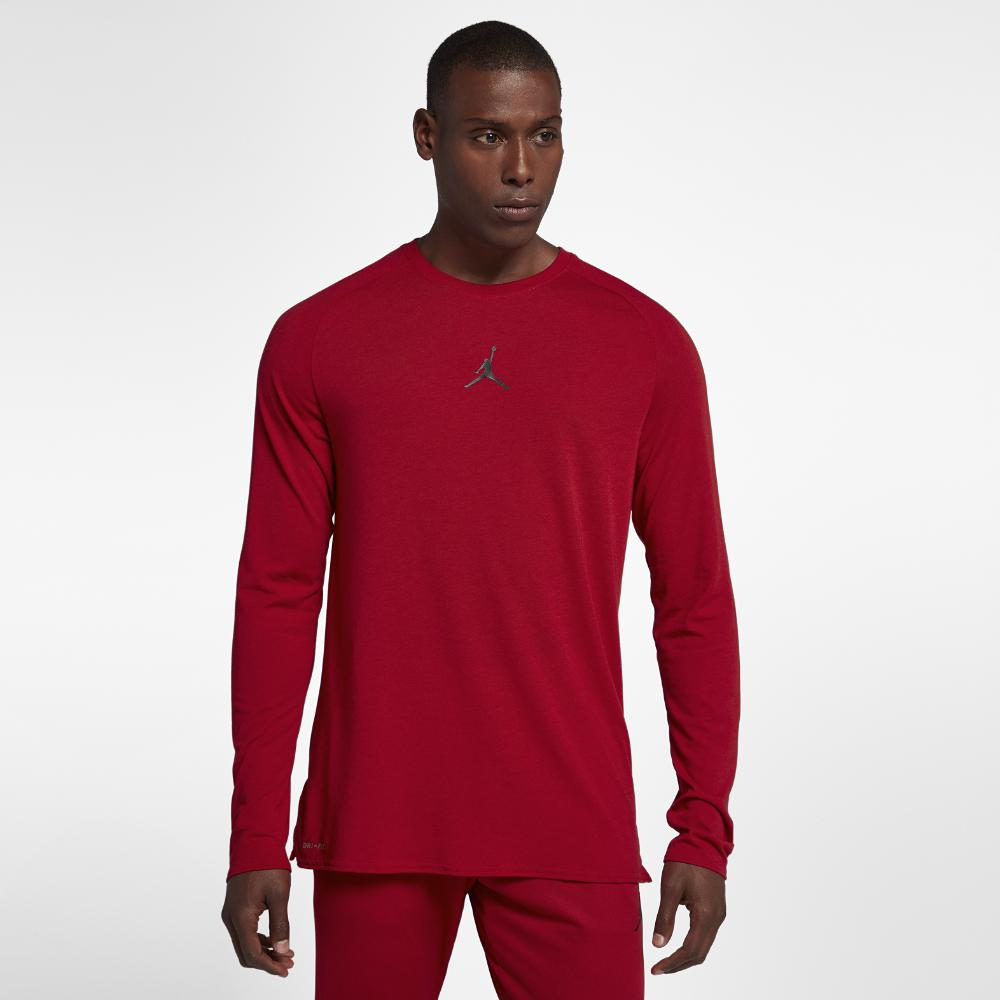 45602c2cc2e77 Nike. Red Dri-fit 23 Alpha Men s Long Sleeve Training Top ...