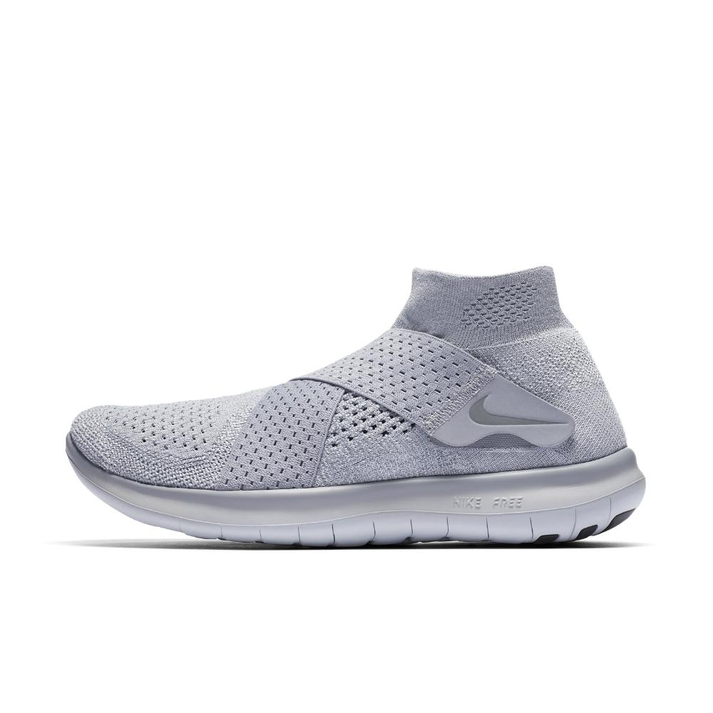 d5117785433 Lyst - Nike Free Rn Motion Flyknit 2017 Women s Running Shoe in Gray