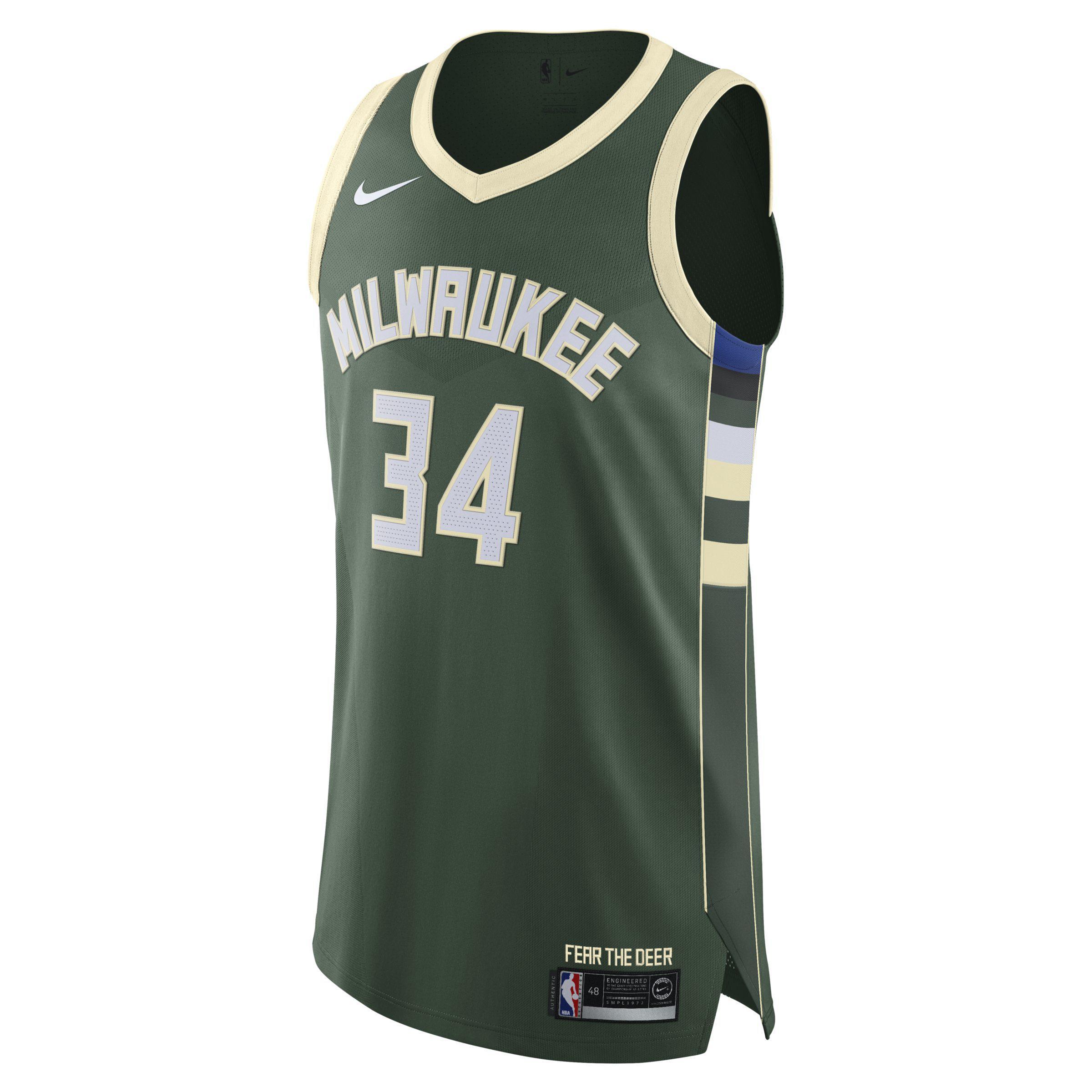 966e0c1e504 Nike Giannis Antetokounmpo Icon Edition Swingman Jersey (milwaukee ...