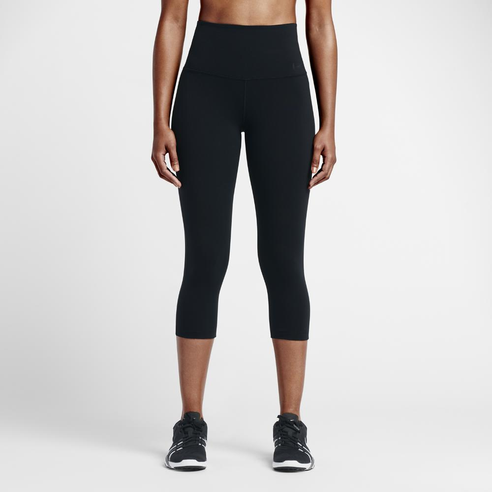 7c741ff620c28 Lyst - Nike Power Legendary Women's High Rise Training Capri Pants ...