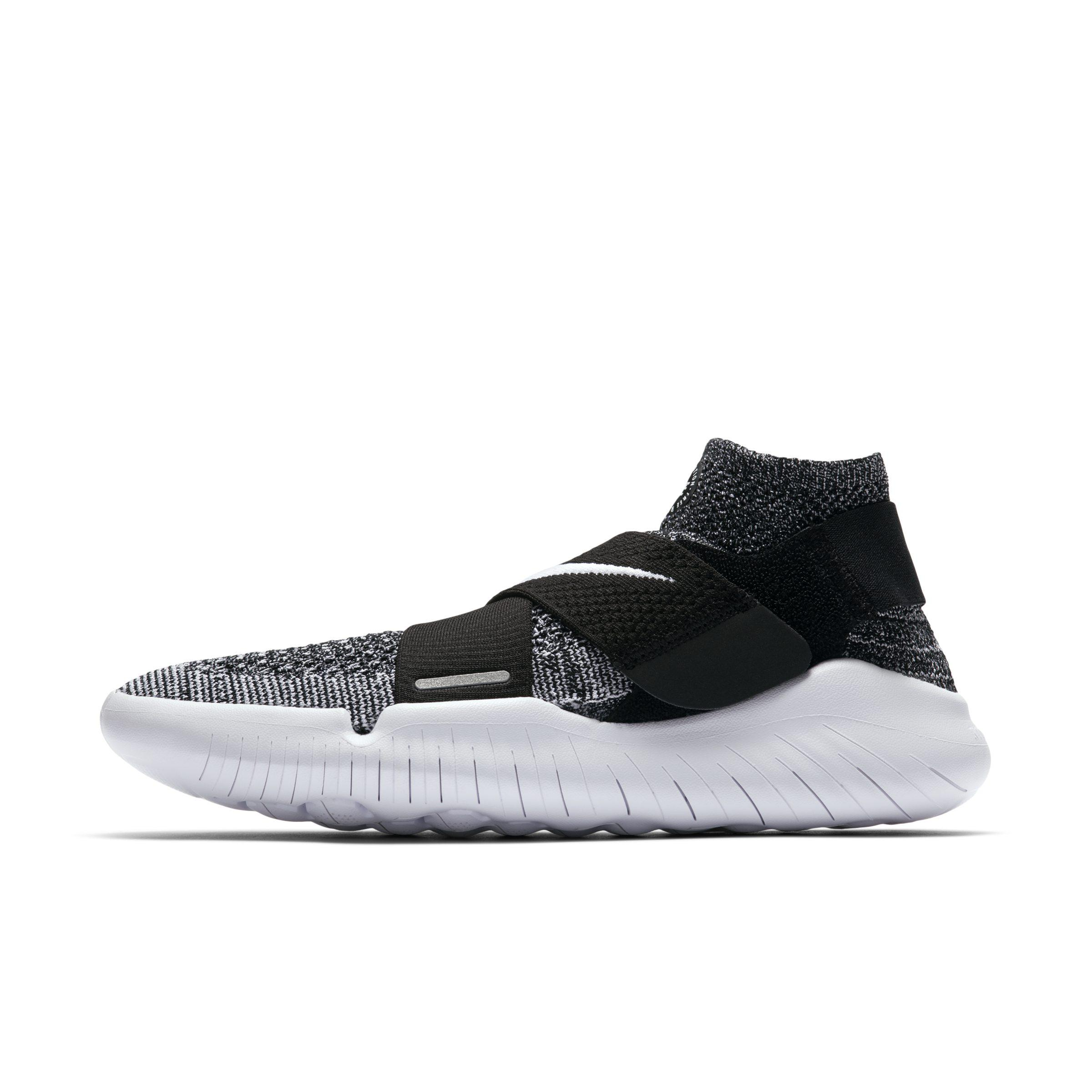 sale retailer detailed pictures sale usa online Nike Lace Free Rn Motion Flyknit 2018 Running Shoe in Black ...