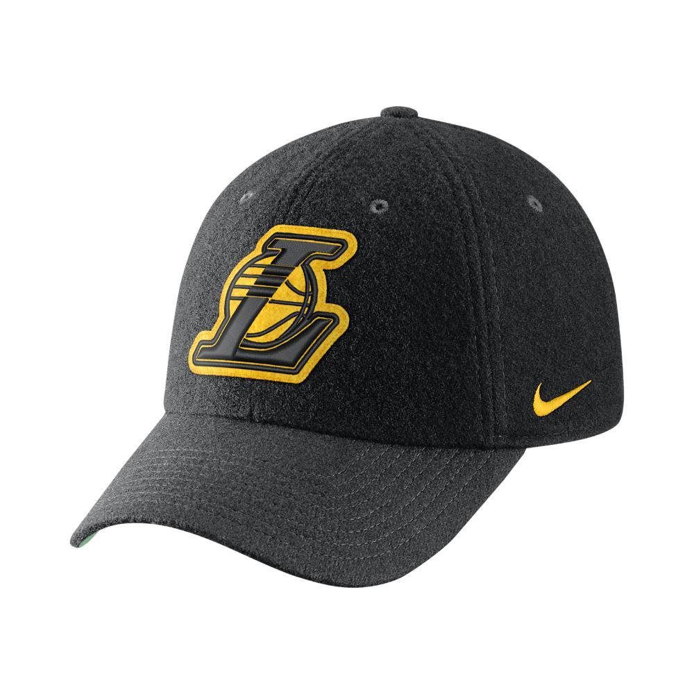 Lyst - Nike Los Angeles Lakers Heritage86 Nba Hat (black) in Black ... ad2651327