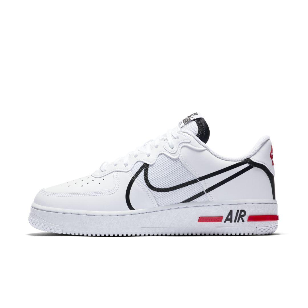air force 1 react uomo sneakers