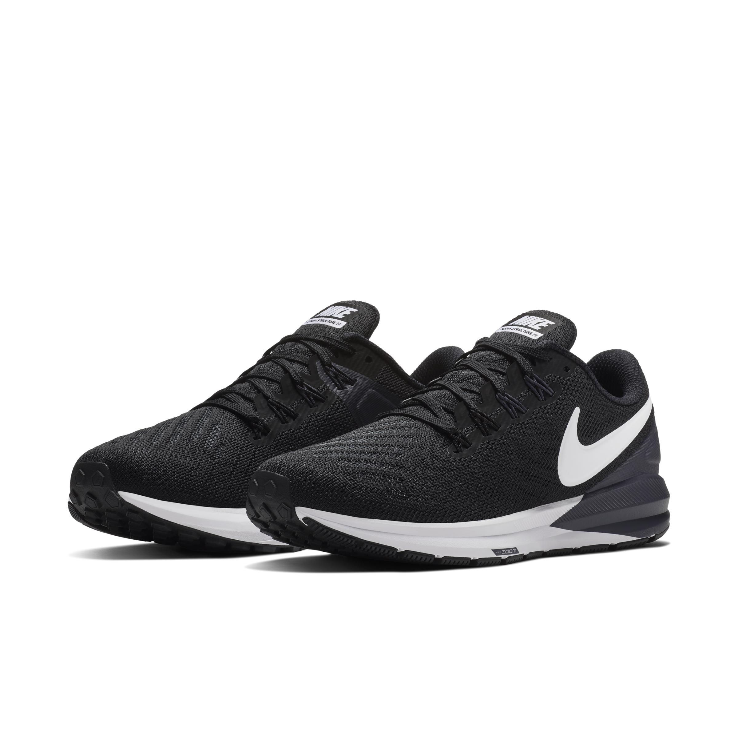 Air Zoom Structure 22 Zapatillas de running Nike de color Negro