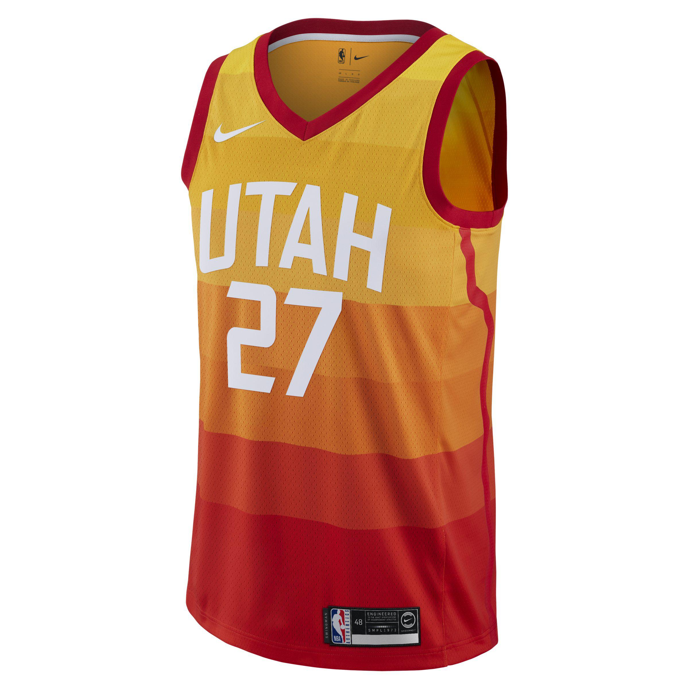 detailing 8149d 032ea Nike Rudy Gobert City Edition Swingman (utah Jazz) Nba ...