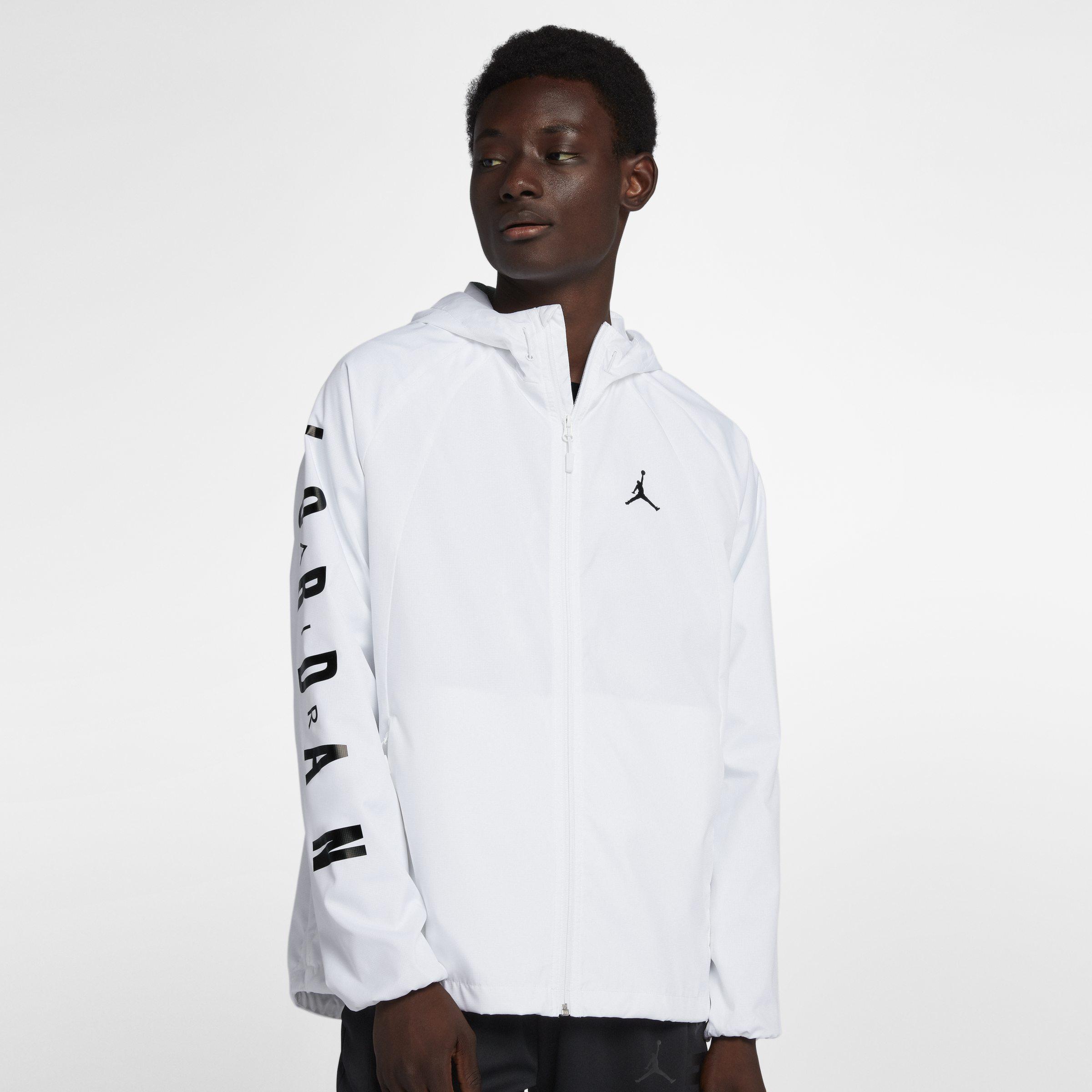 57ac7ec79c Nike Jordan Lifestyle Wings Windbreaker Jacket in White for Men - Lyst