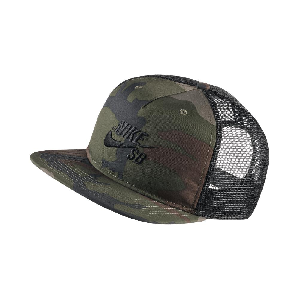 a533df613df17 Lyst - Nike Sb Trucker Adjustable Hat (olive) in Green for Men
