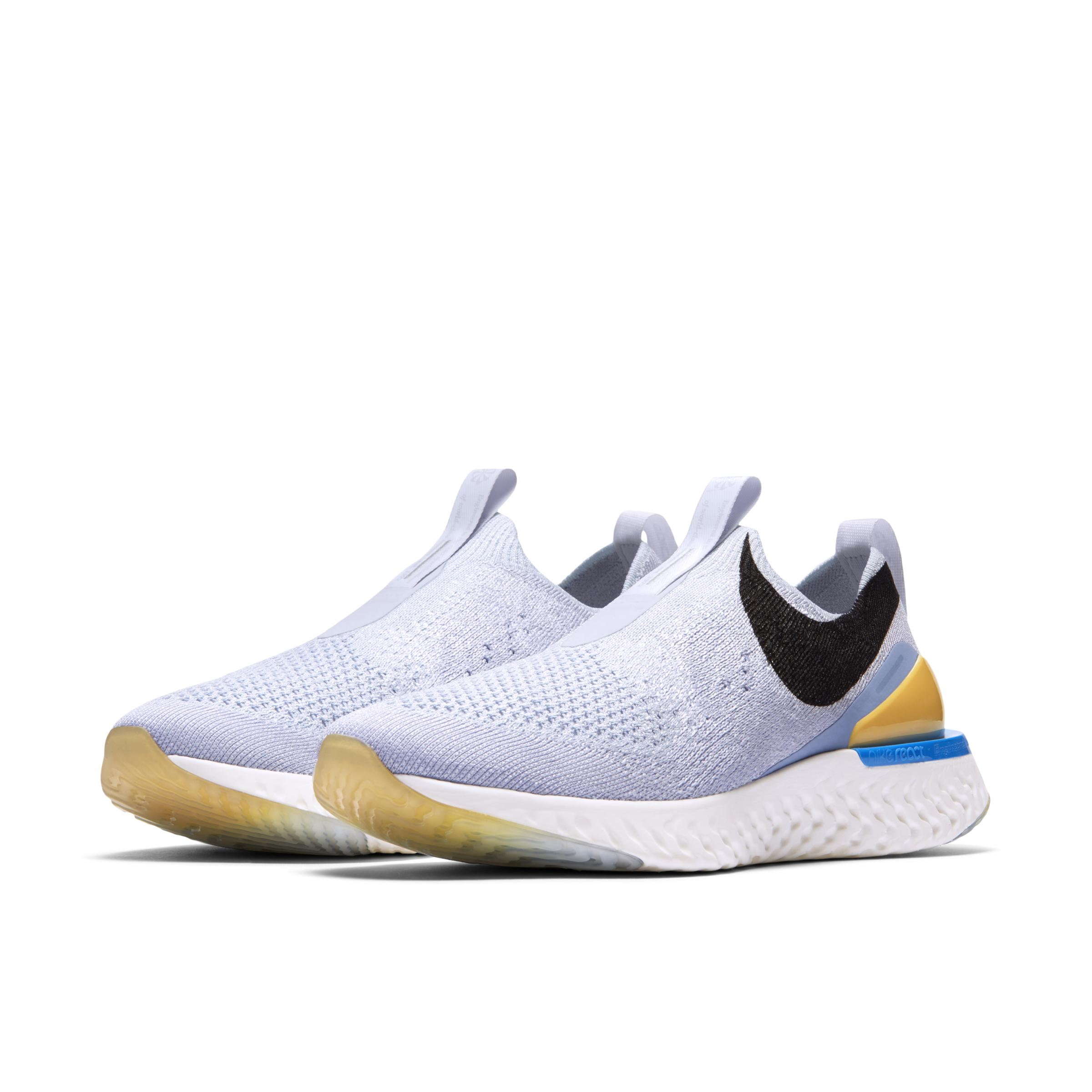 Epic Phantom React Zapatillas de running Nike de Tejido sintético de color Gris