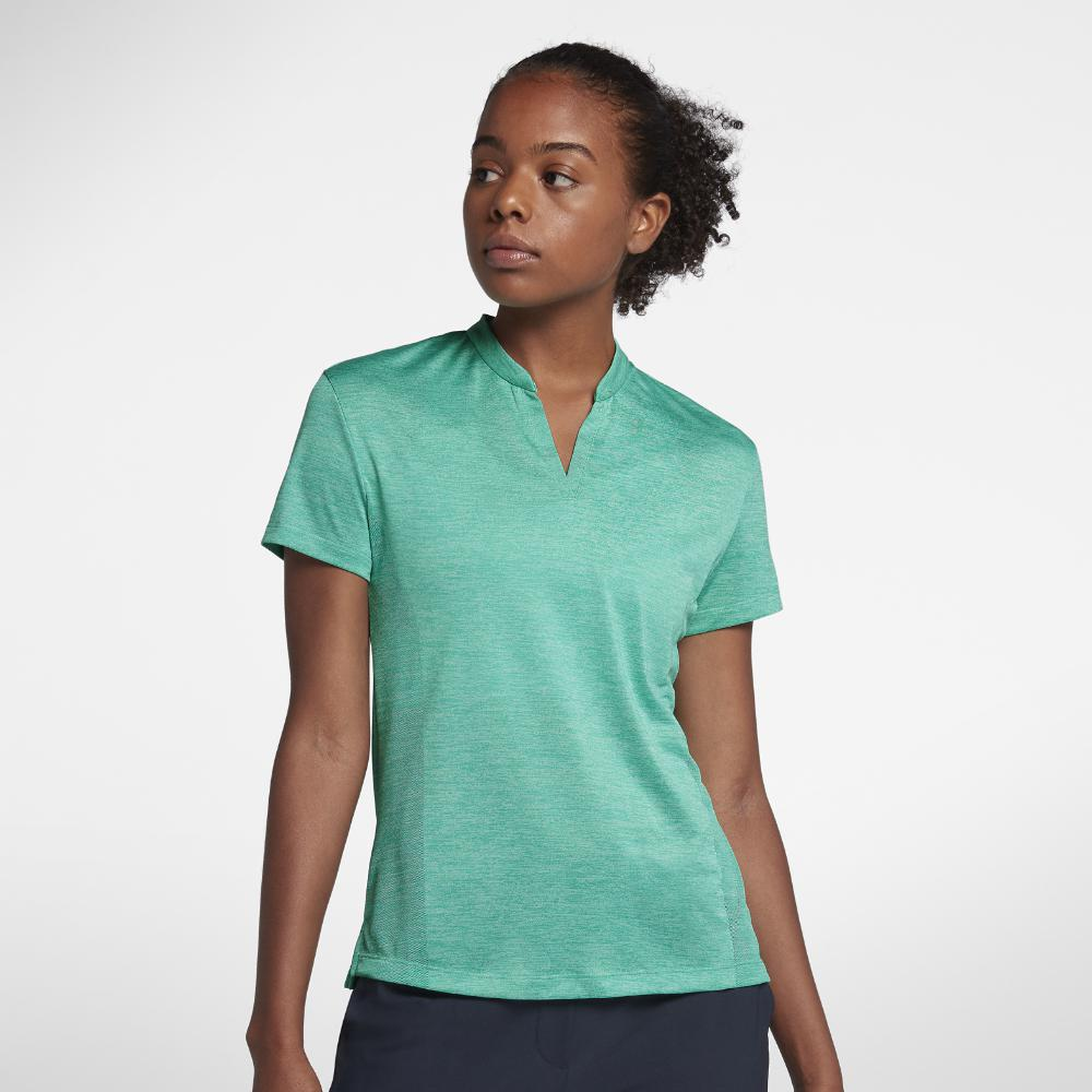 Lyst Nike Zonal Cooling Womens Golf Polo Shirt In Green