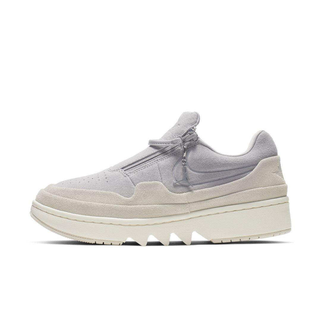 Nike Leather Air Jordan 1 Jester Xx Low Shoe in Gray - Lyst