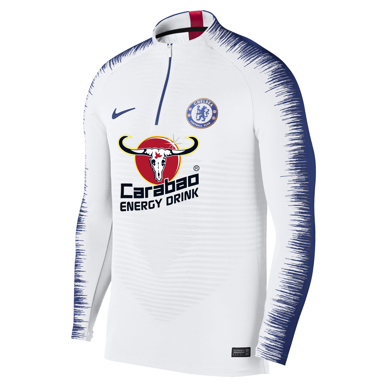 online retailer b1db6 3aa50 Nike Chelsea Fc Vaporknit Strike Drill Long-sleeve Football ...