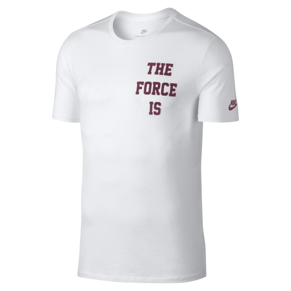 nike shirt the force is female