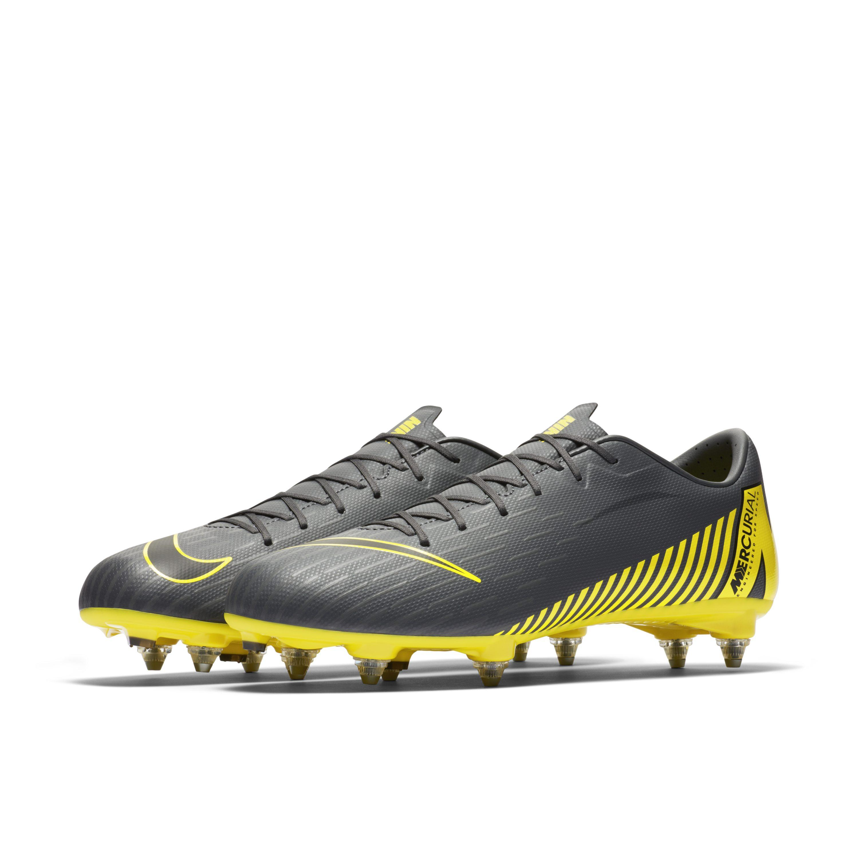 huge discount 79574 3ee43 Nike - Gray Mercurial Vapor Xii Academy Sg-pro Soft-ground Football Boot  for. View fullscreen