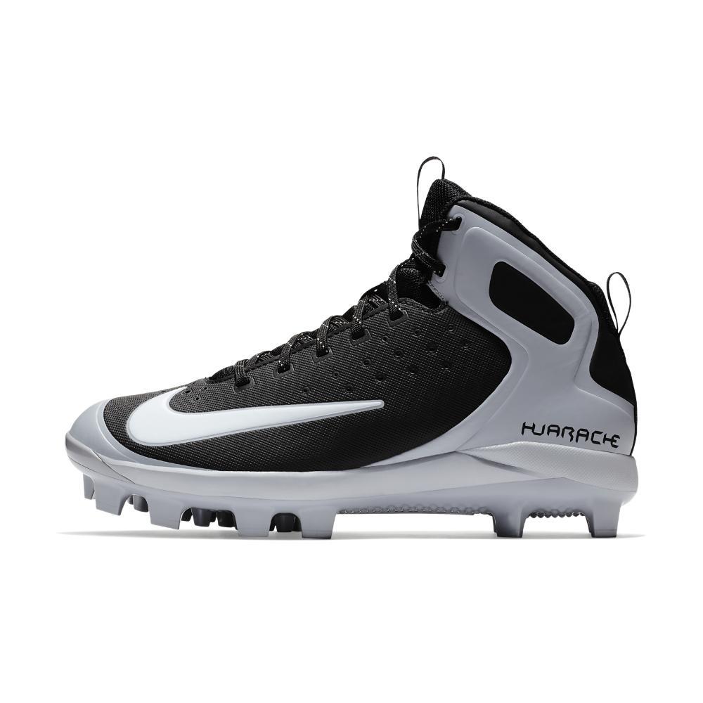 46fc4c49 Nike Alpha Huarache Pro Mid Mcs Men's Baseball Cleats in Black for ...