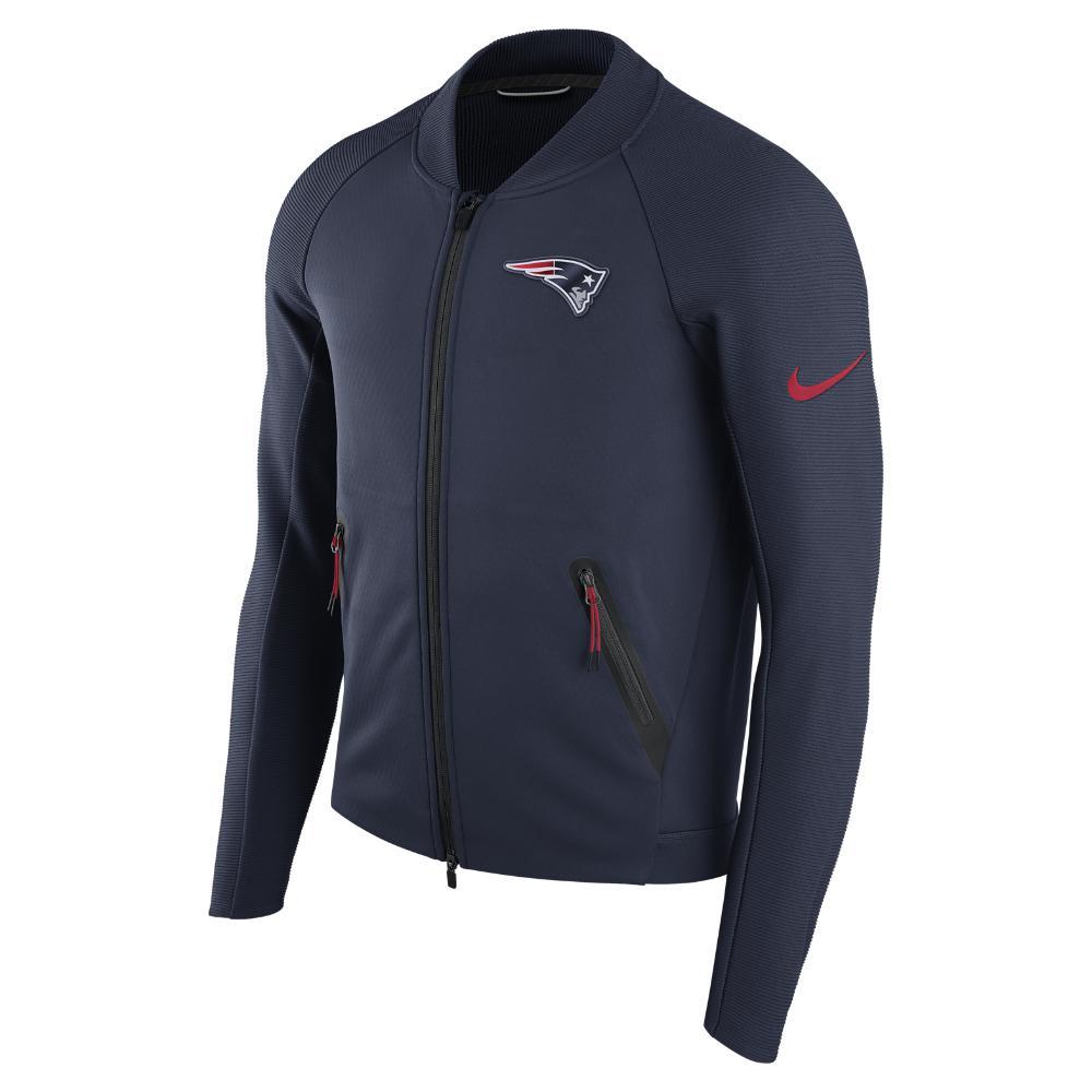 outlet store 9e448 67fd1 Nike Blue Sideline Coaches (nfl Patriots) Men's Jacket for men