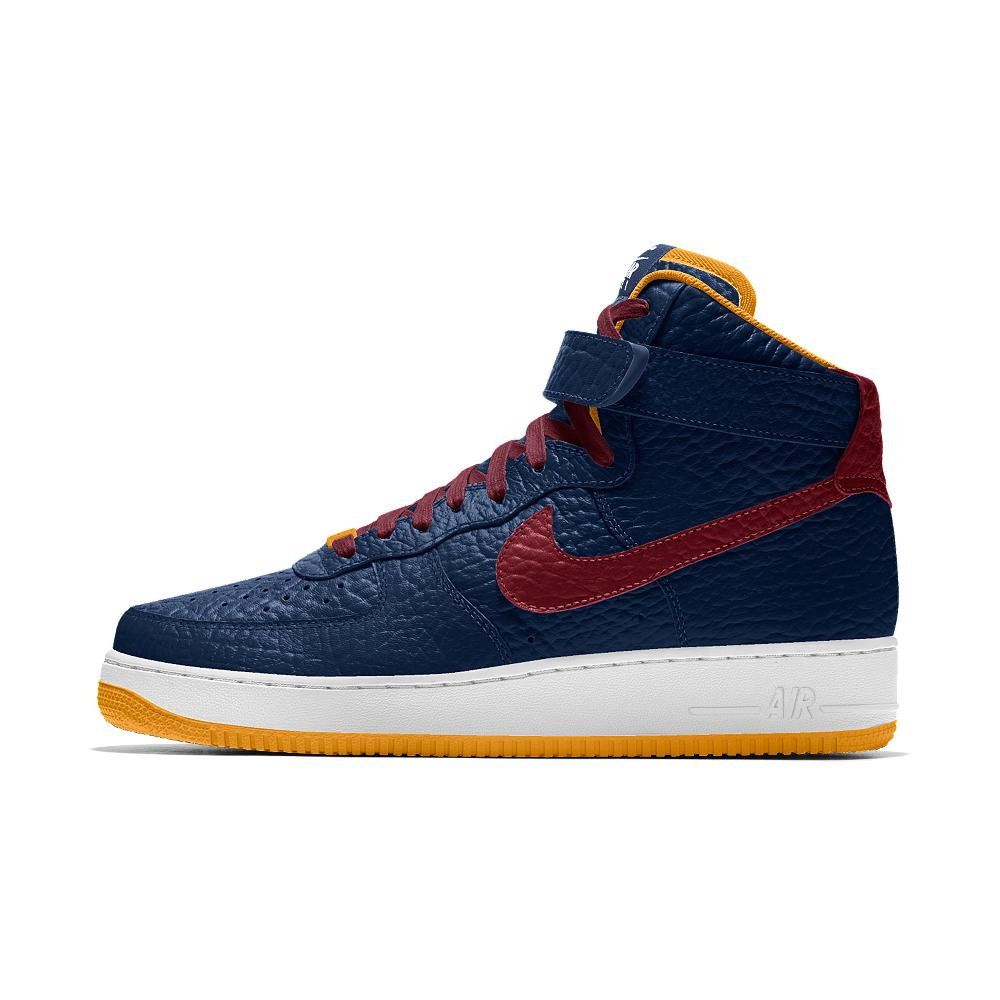 847e4c83be7b Nike Air Force 1 High Premium Id (cleveland Cavaliers) Men s Shoe in ...