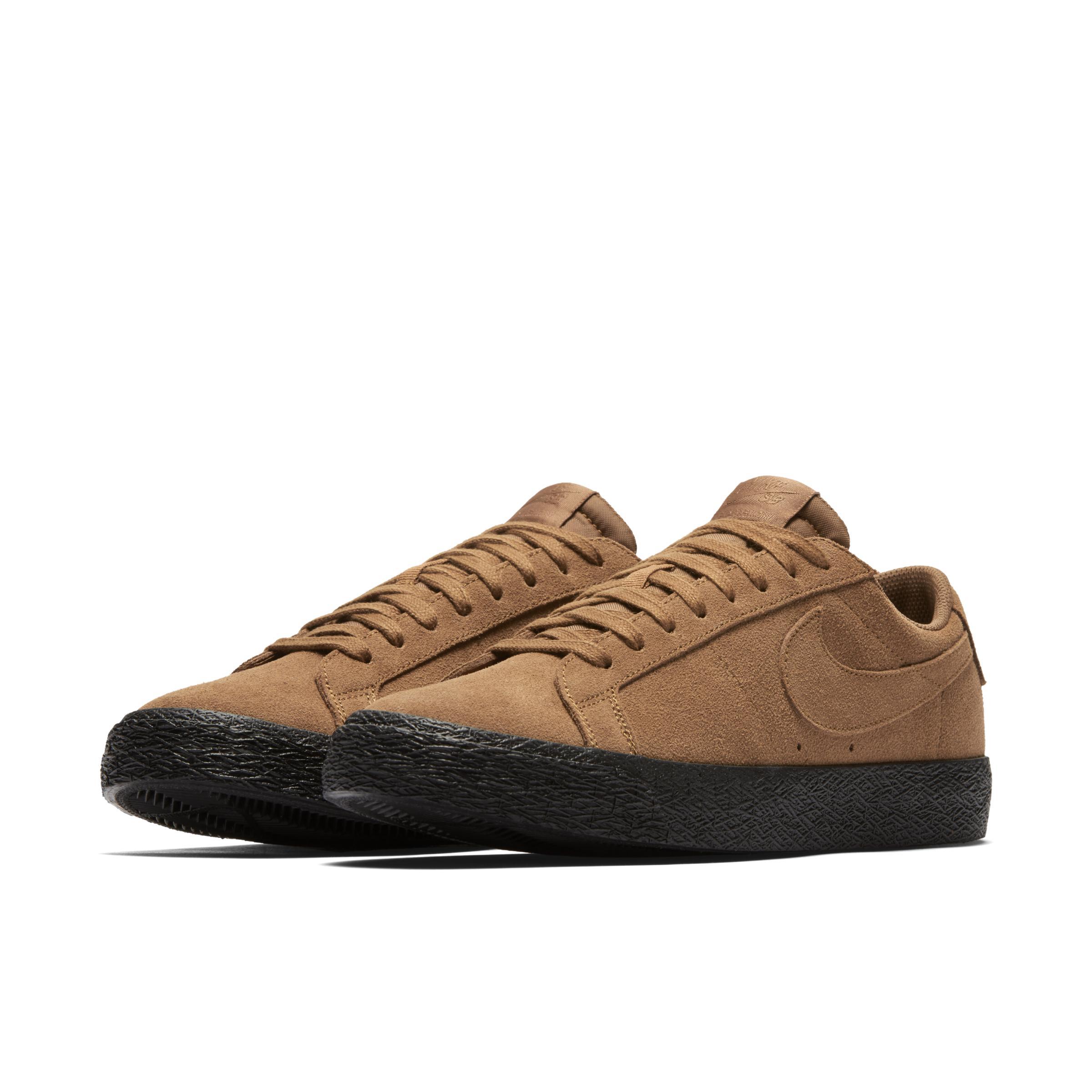 official photos 0148e 16522 Nike - Brown Chaussure de skateboard SB Blazer Zoom Low pour for Men -  Lyst. Afficher en plein écran