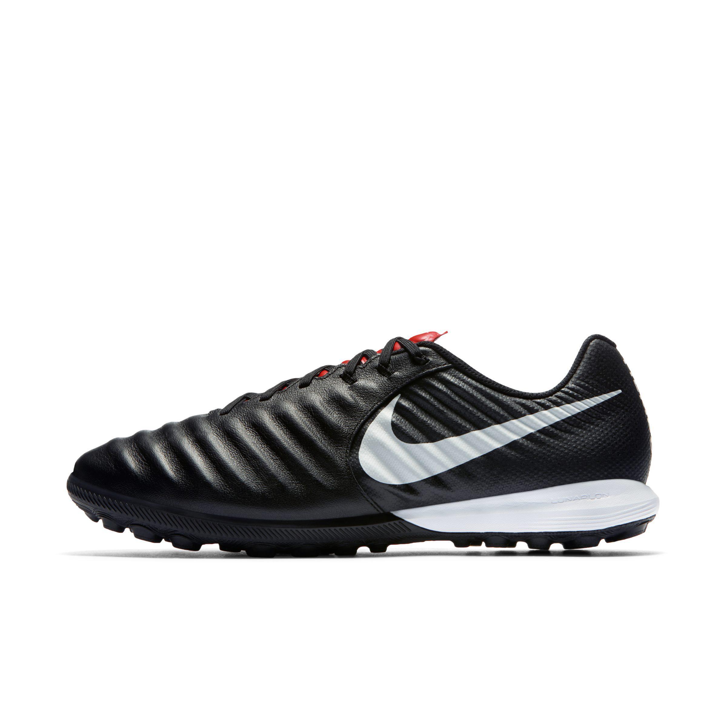 dcf77cb3be9f Nike Tiempox Lunar Legend Vii Pro Turf Football Boot in Black - Lyst