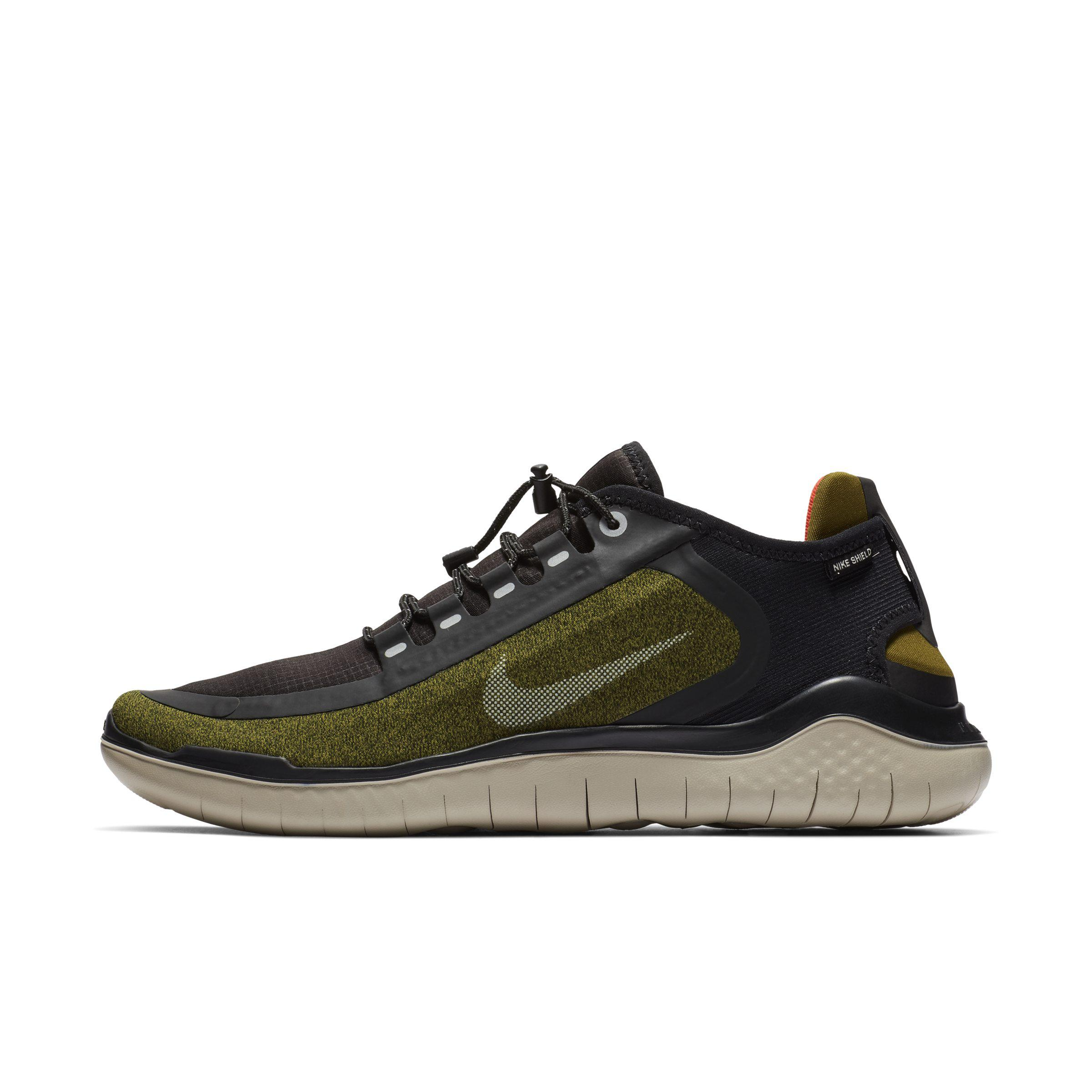 29450840b415 Nike Free Rn 2018 Shield Water-repellent Running Shoe in Green for ...
