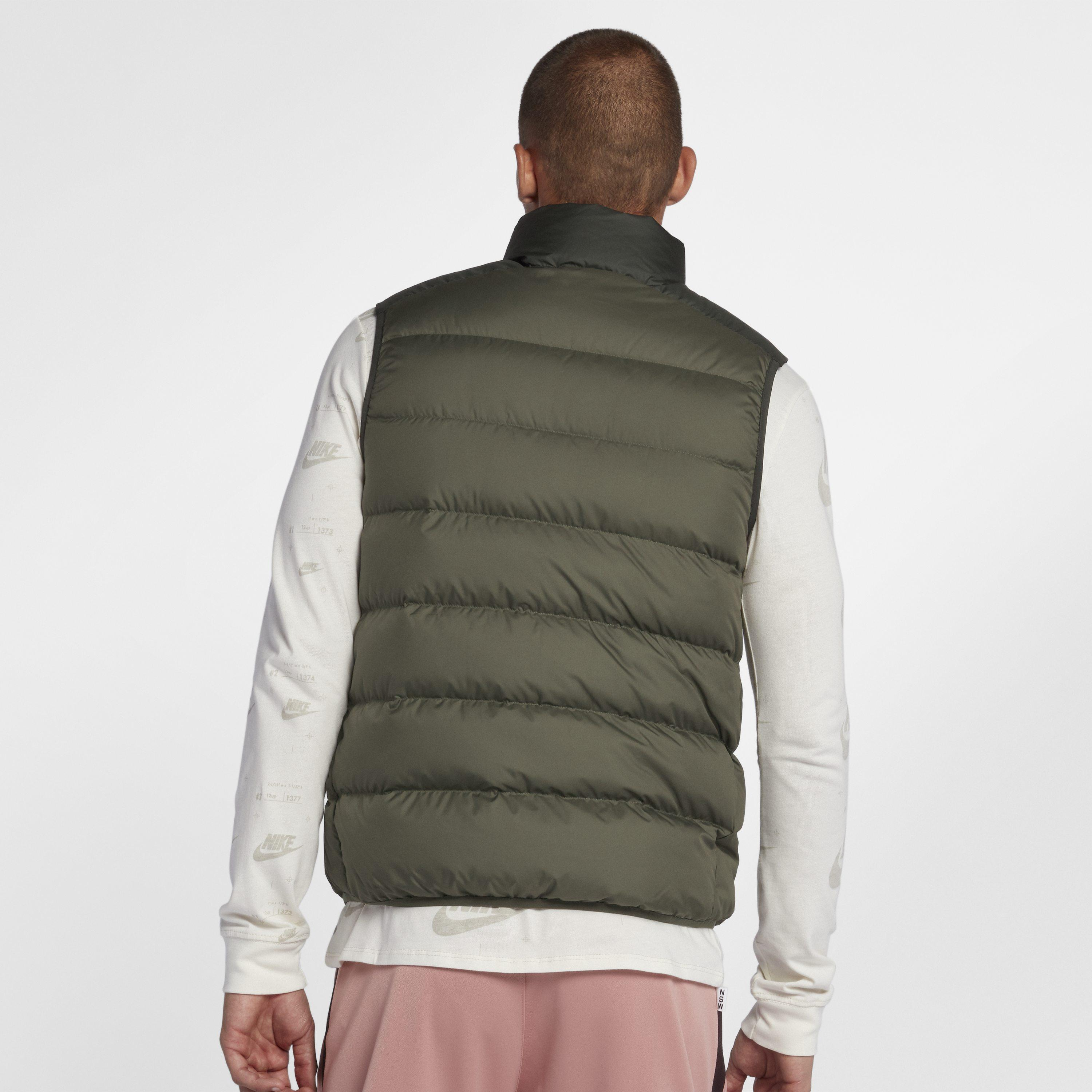 f069be67cda0 Nike Sportswear Windrunner Down Fill Gilet in Green for Men - Save ...