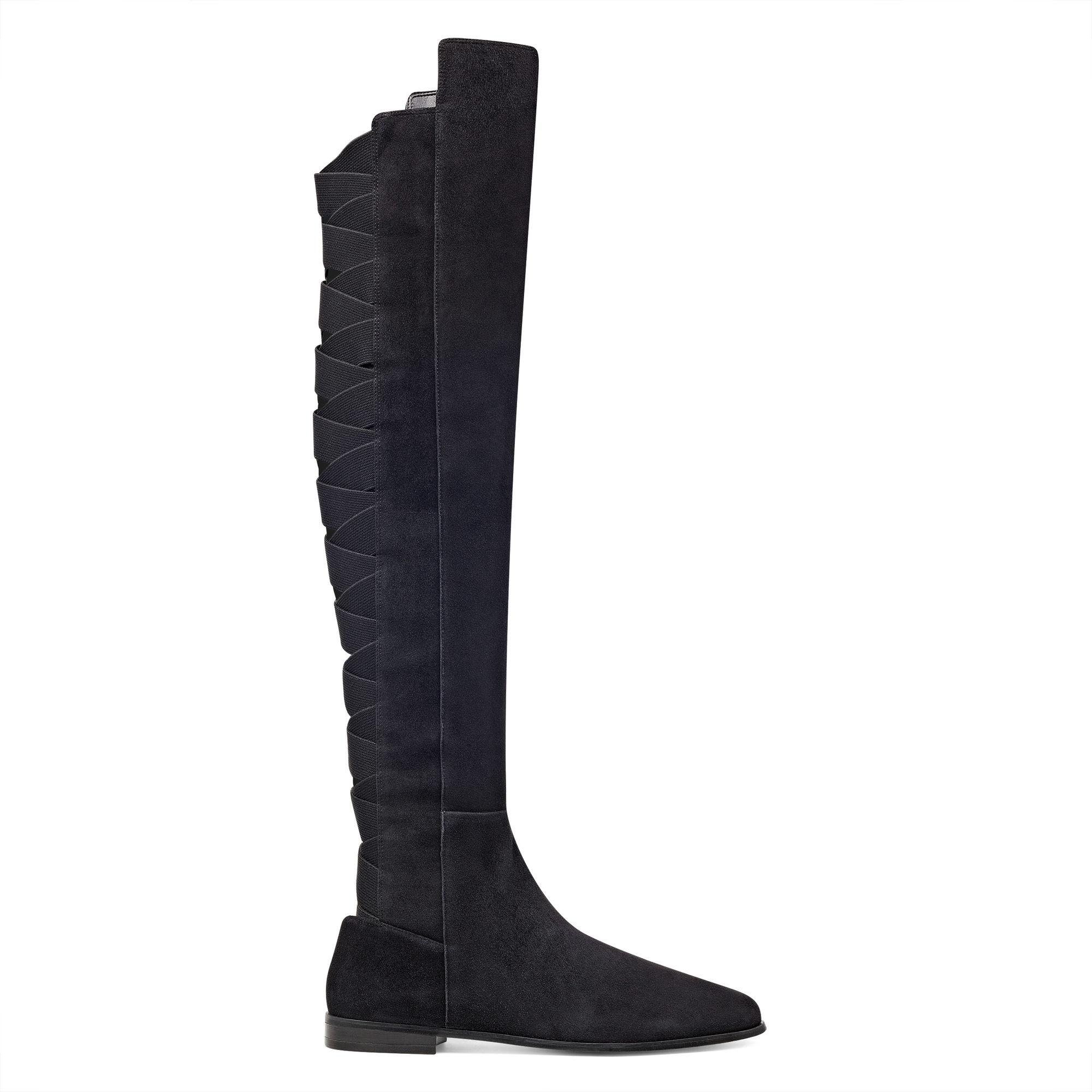 5525ec60b72 Lyst - Nine West Eltynn Over The Knee Boots in Black
