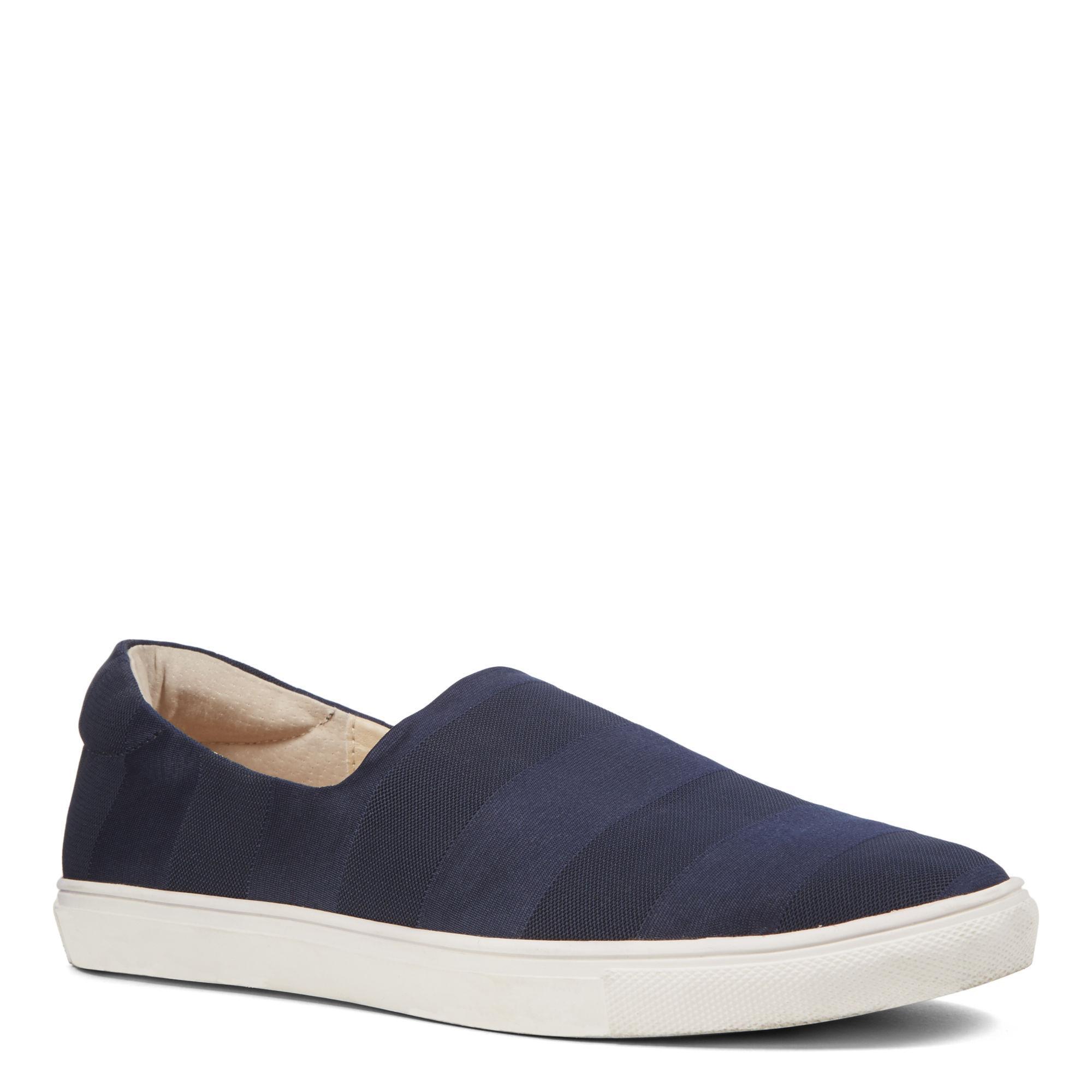 nine west slip on sneakers in blue lyst