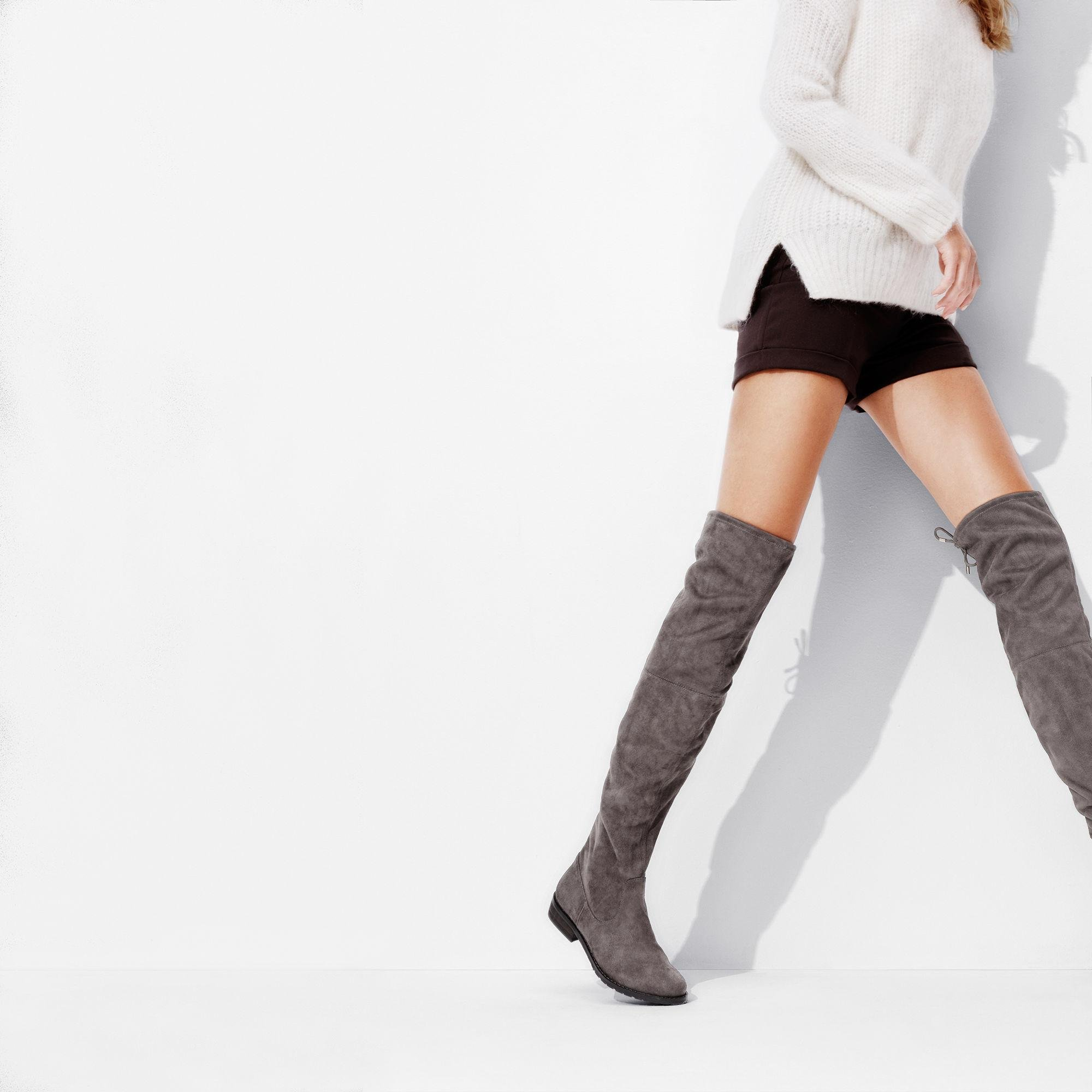 1702e3901db Lyst - Nine West Nolita Over The Knee Boots in Brown