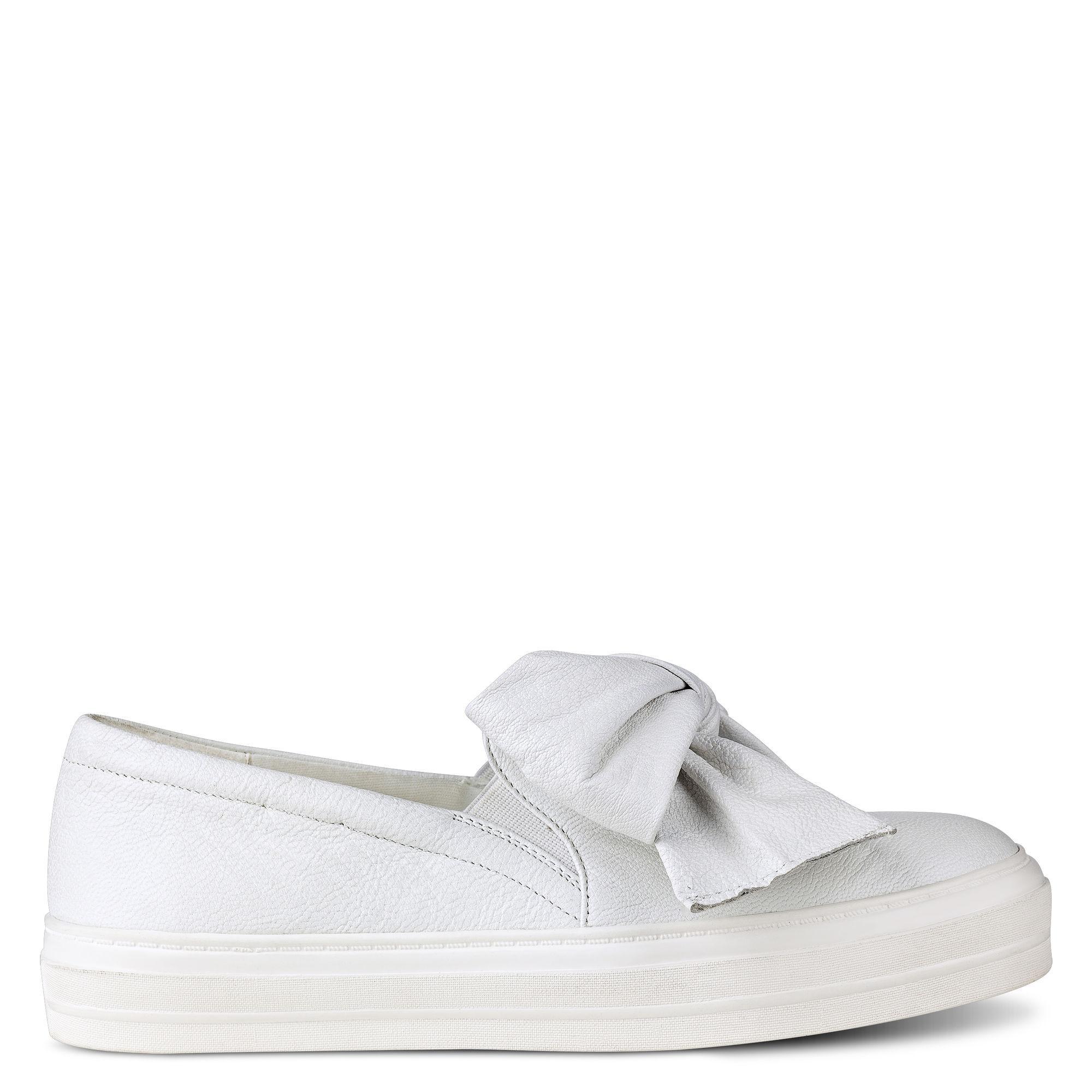 Lyst Nine West Onosha Slip On Sneakers In White