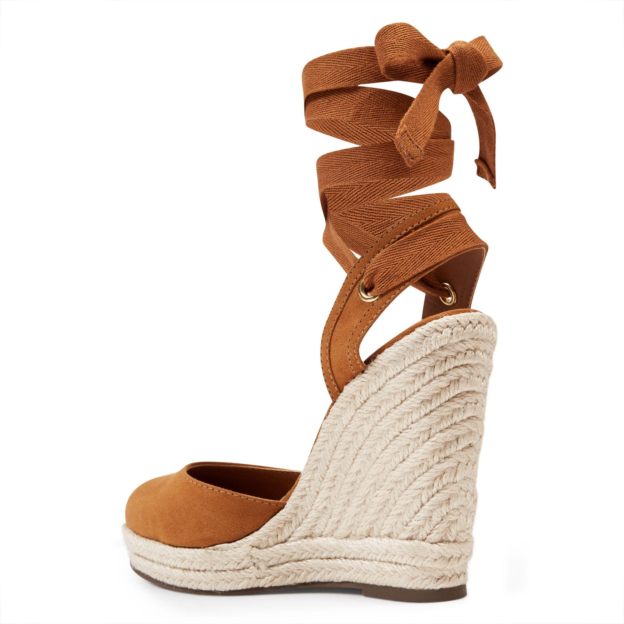 acaa3e9c2531 Lyst - Nine West Prescot Espadrille Wedges in Brown