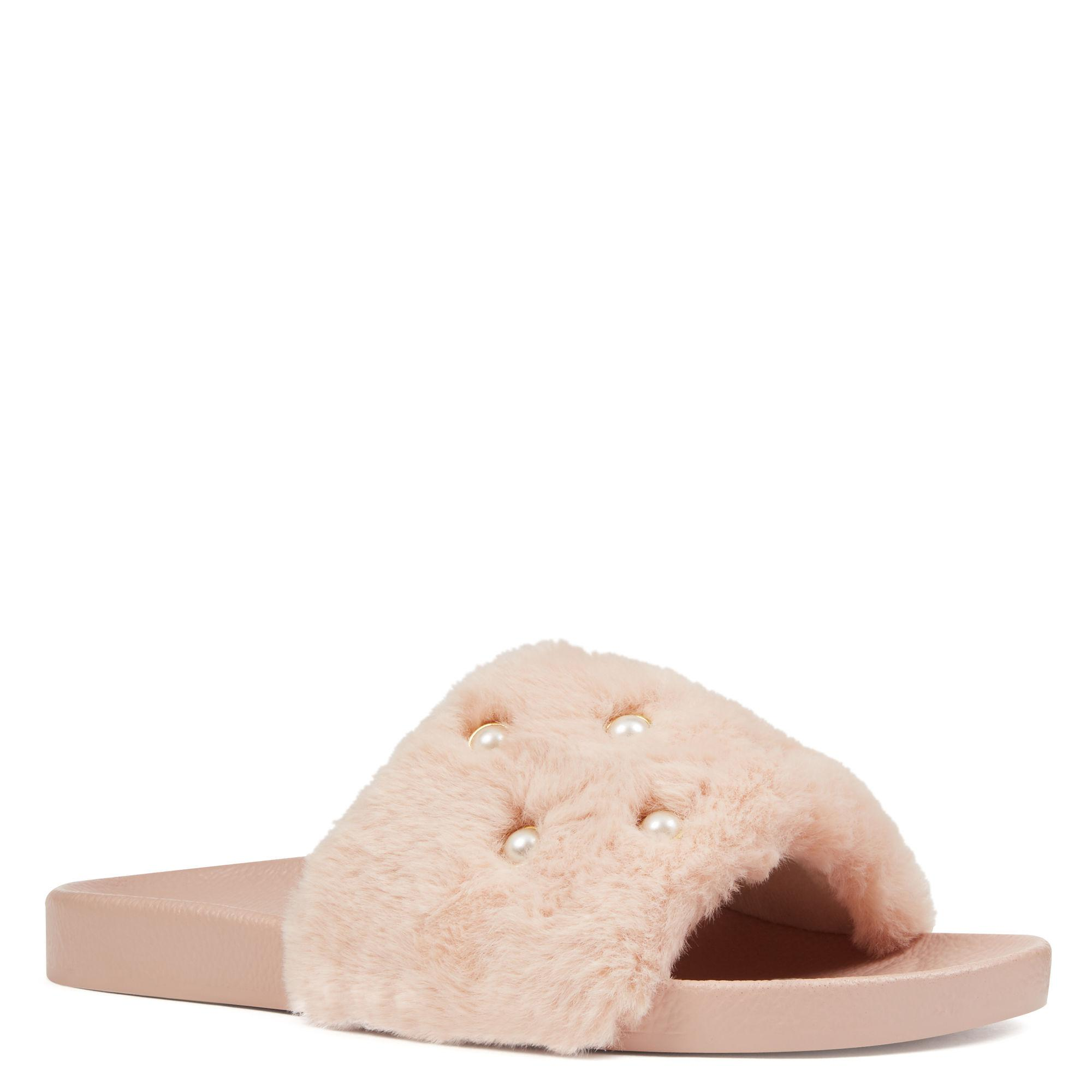 7dd2383d885 Lyst - Nine West Sheslides Slippers in Pink