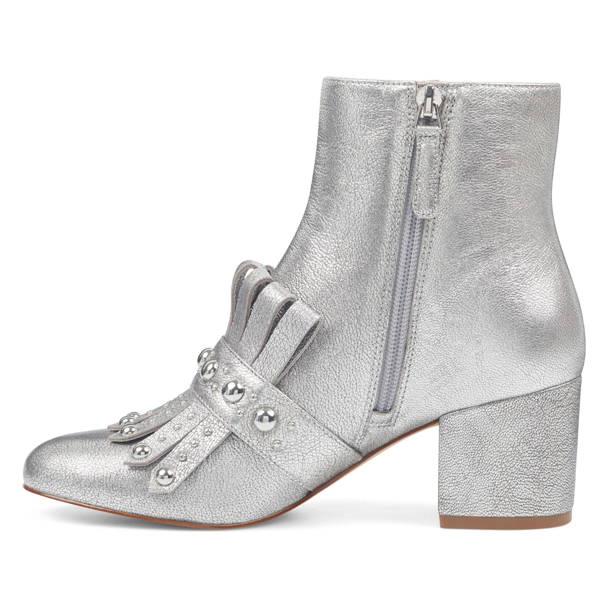 Nine West Leather Qamile Booties in