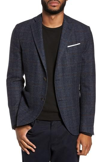 Eleventy Plaid Sport Coat In Blue For Men Lyst