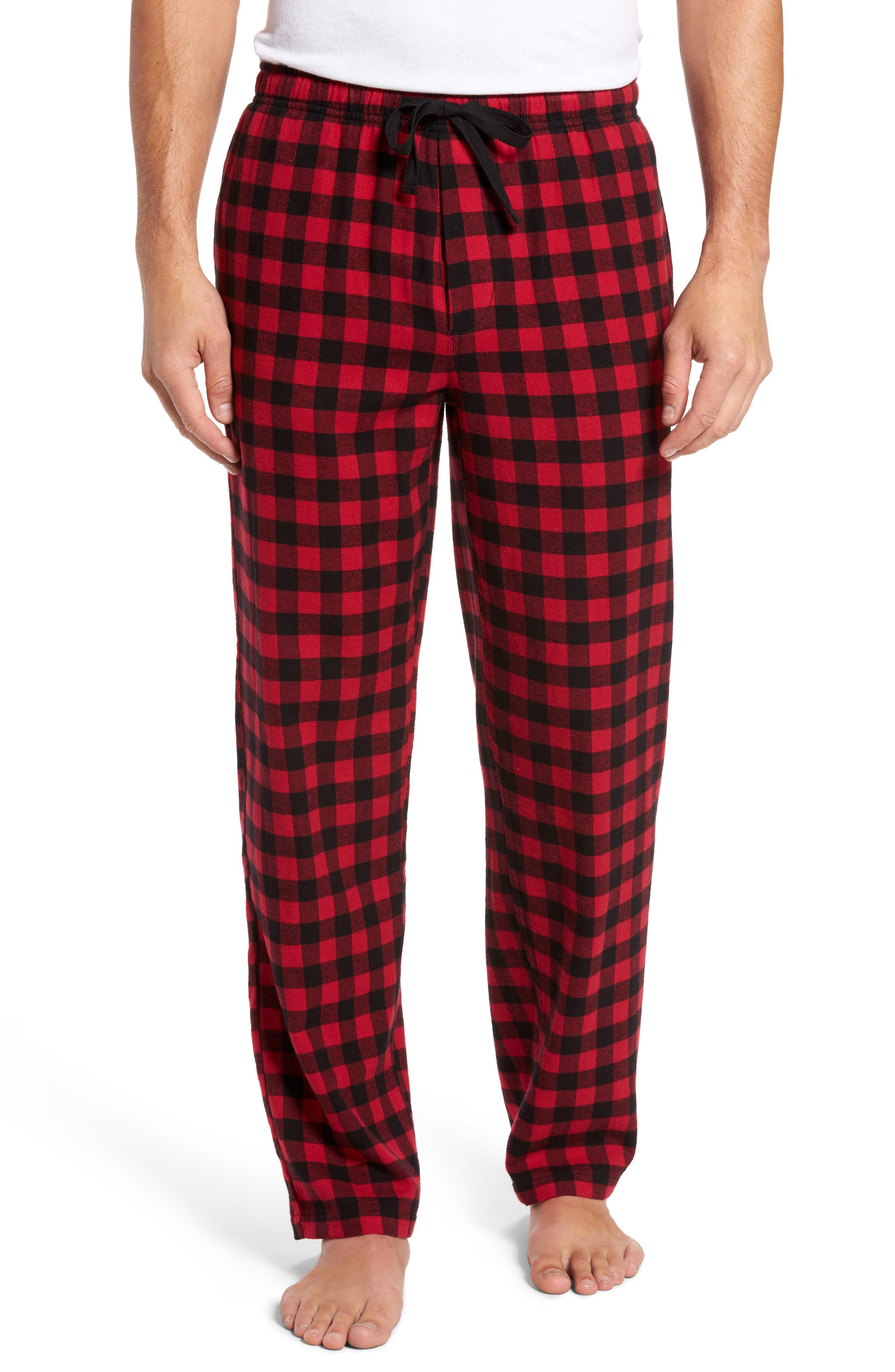 362698f5a9 Lyst - Nordstrom Flannel Pajama Pants in Blue for Men