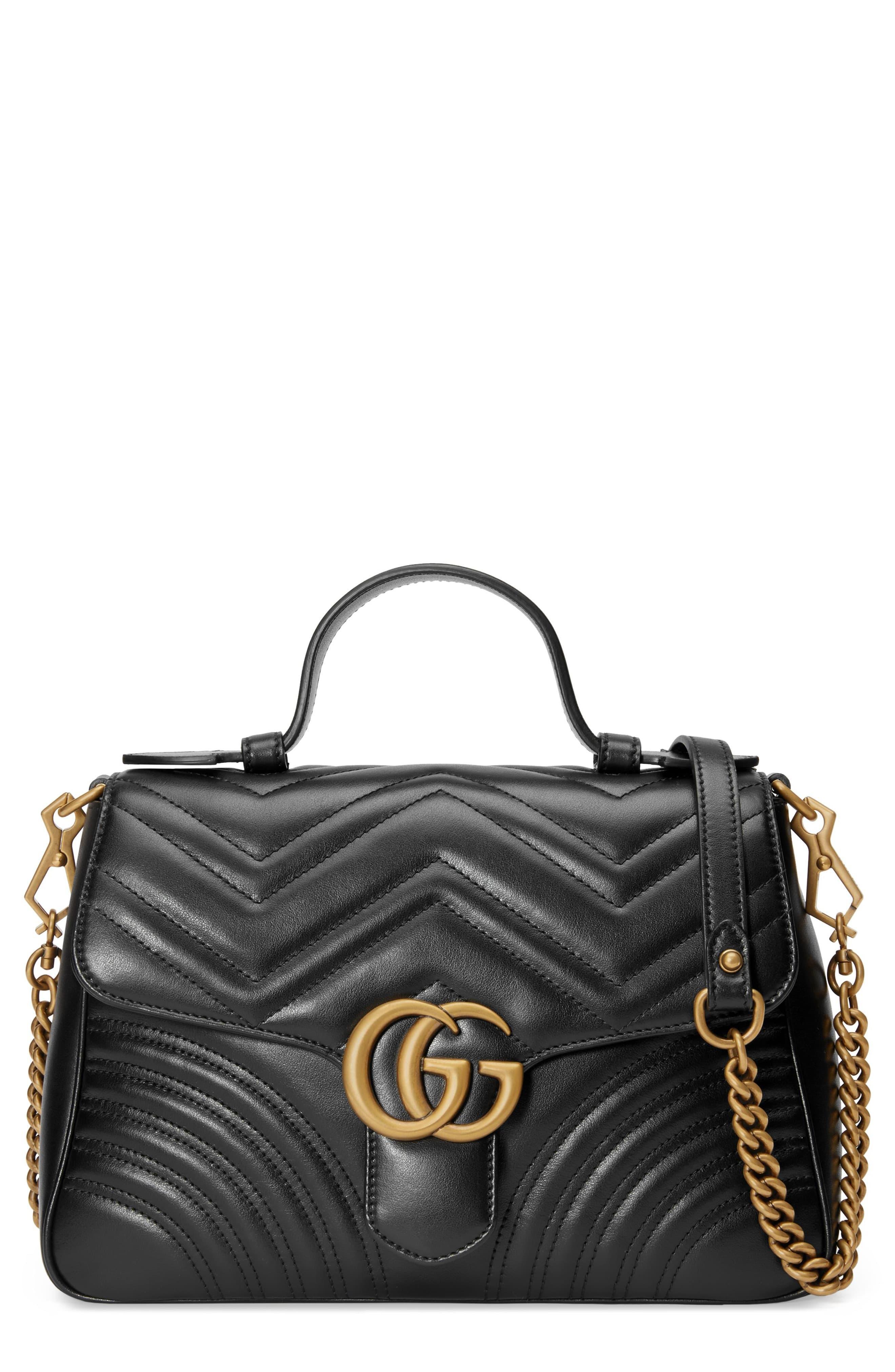 Gucci Small Gg Marmont 2.0 Matelasse Leather Camera Bag