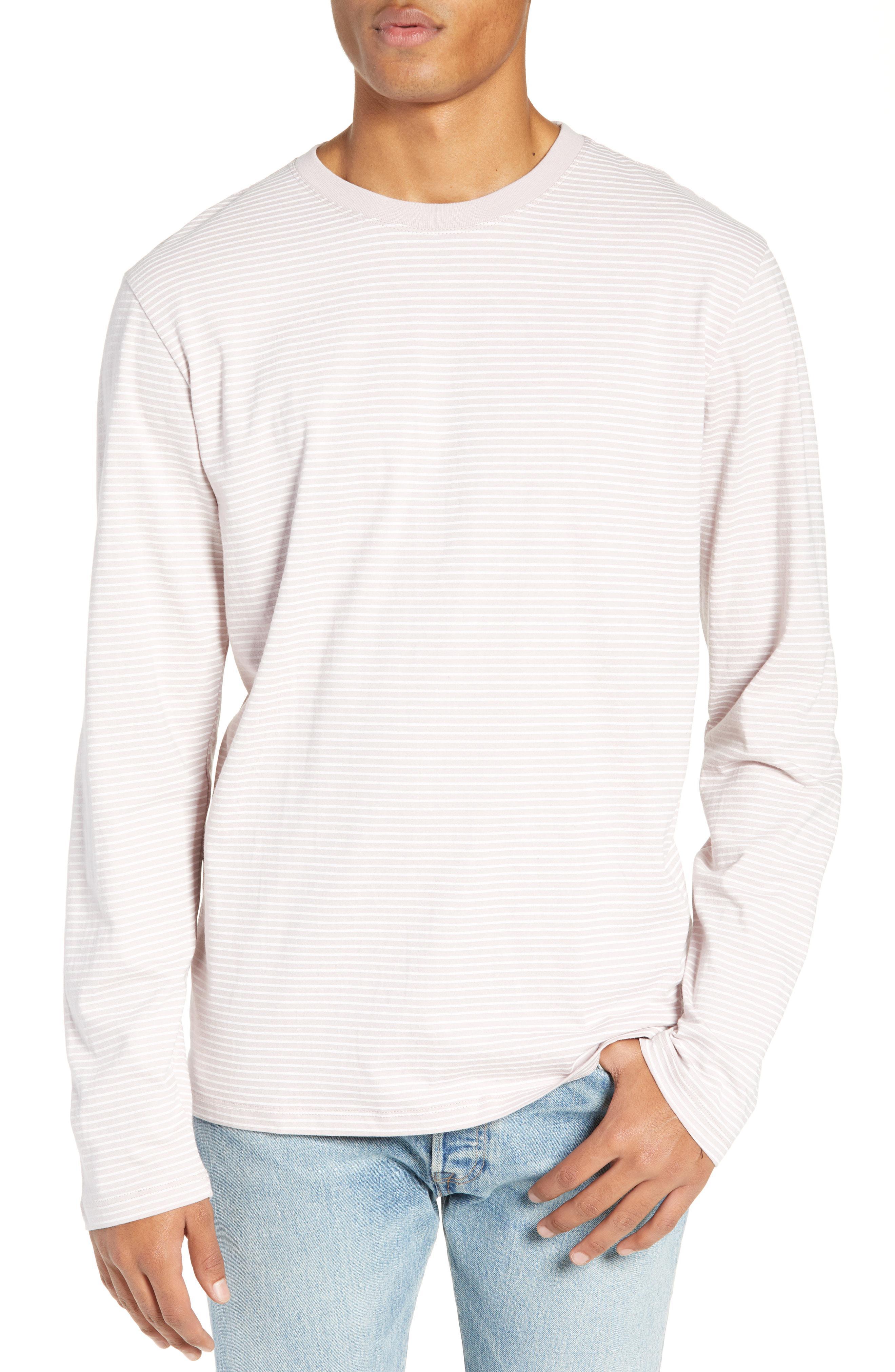 7e1362a93d Vans Engineered Stripe Long Sleeve T-shirt for Men - Lyst