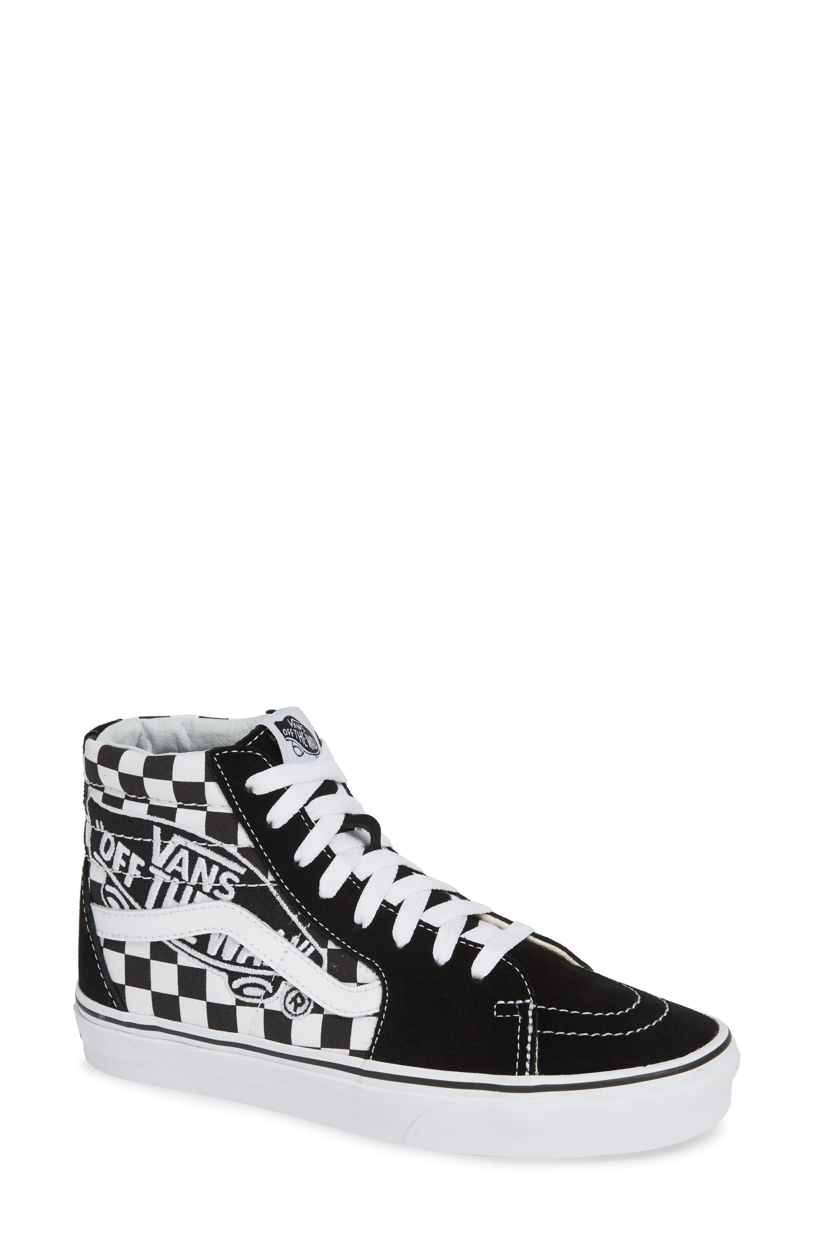90a4bea37eac75 Lyst - Vans Sk8-hi Shoes (high-top Trainers) in Black